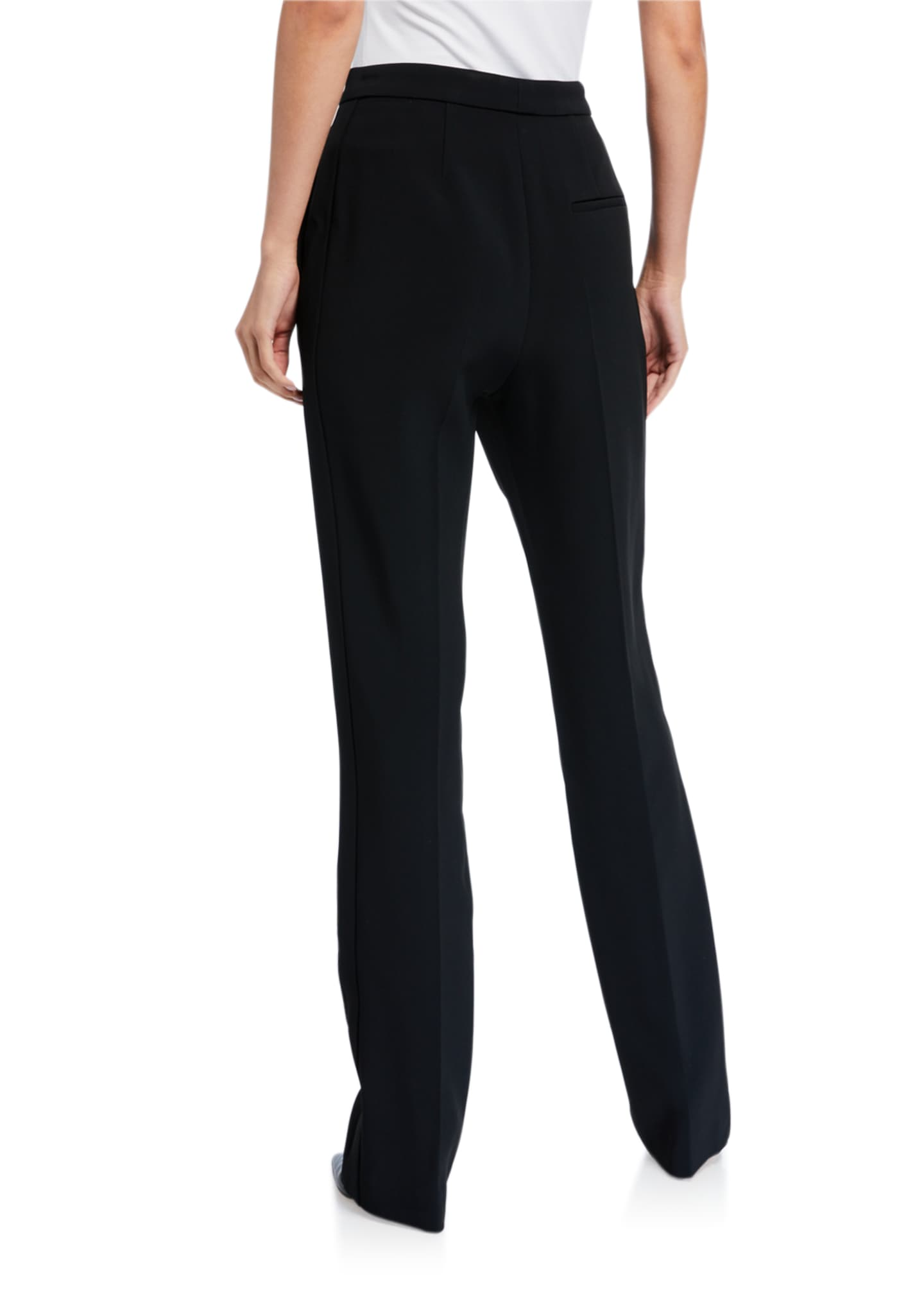 Image 2 of 3: High-Rise Straight-Leg Pants
