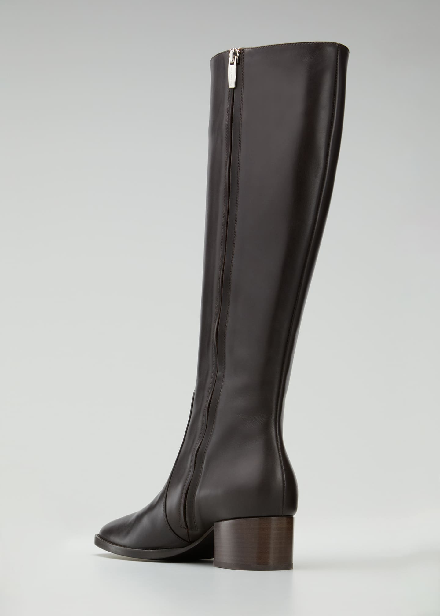 Image 2 of 3: Tall Soft Leather Knee Boots