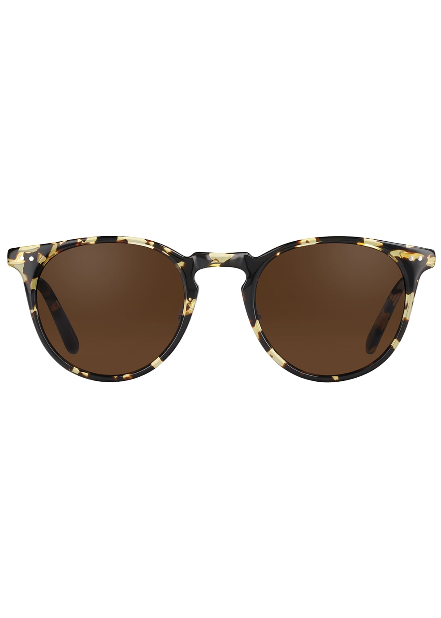 Image 2 of 2: Men's Ocean Block Tortoiseshell Sunglasses
