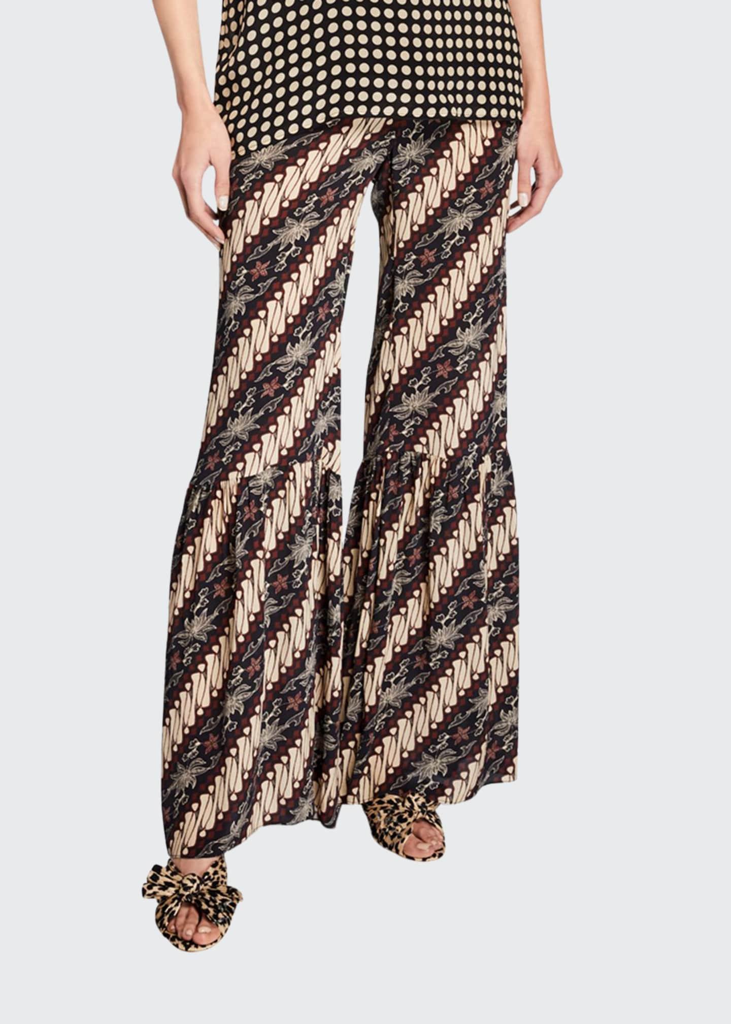 Figue Brielle Javanese Silk Beach Pants