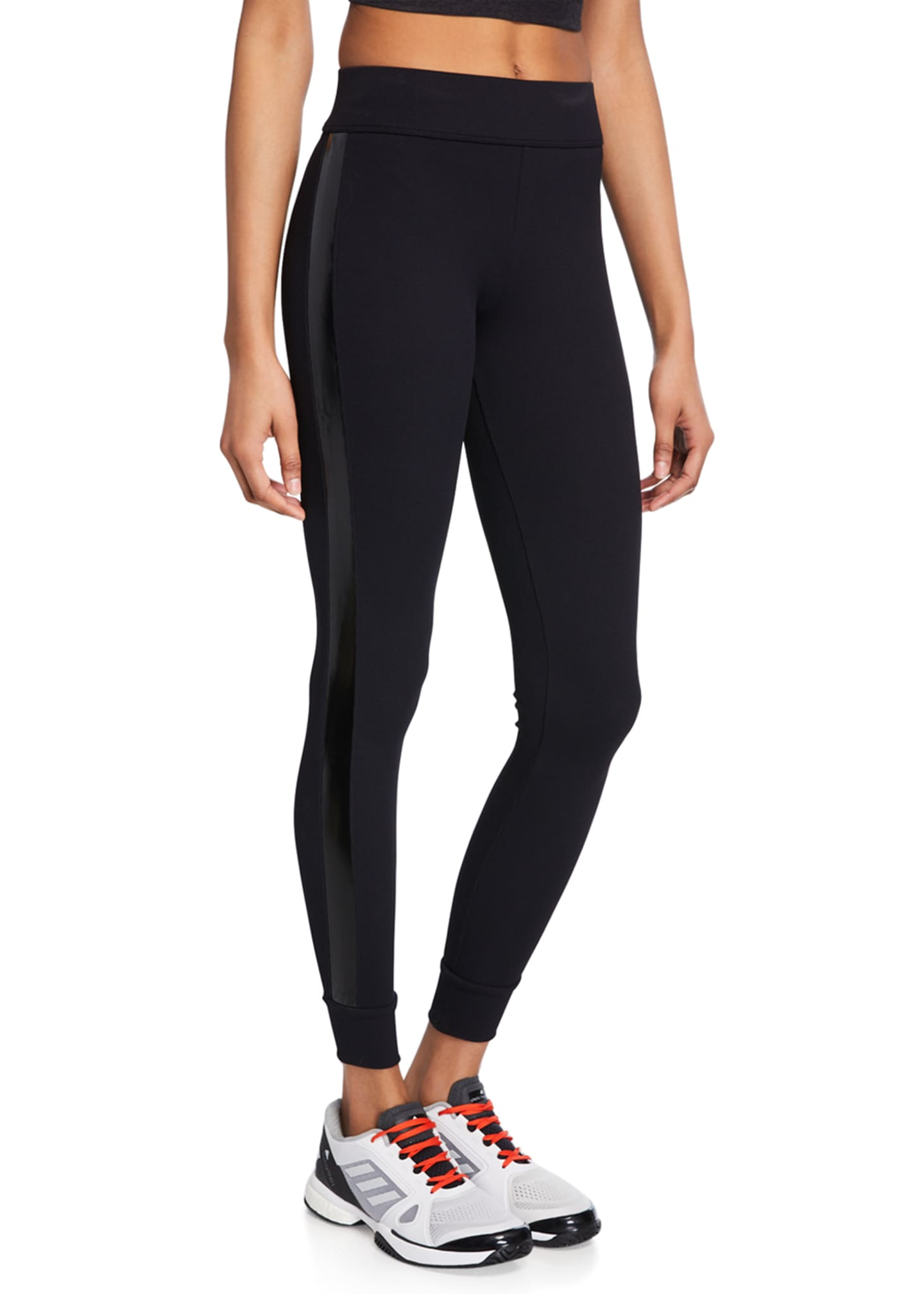 No Ka Oi Eono Side-Stripe Leggings
