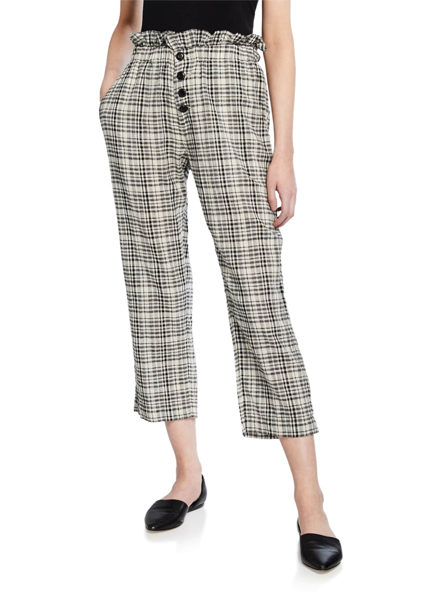 The Great The Gunny Sack Check Trousers
