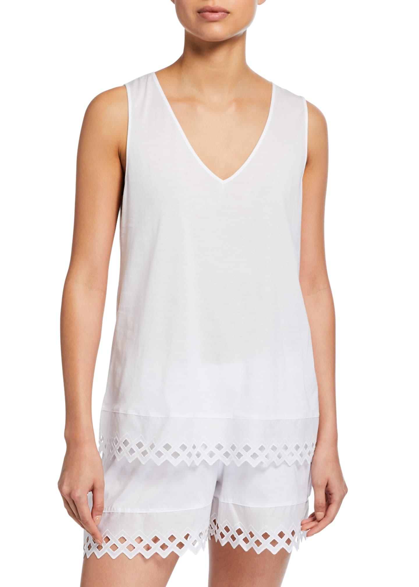 Hanro Bella Tank Shortie Pajama Set