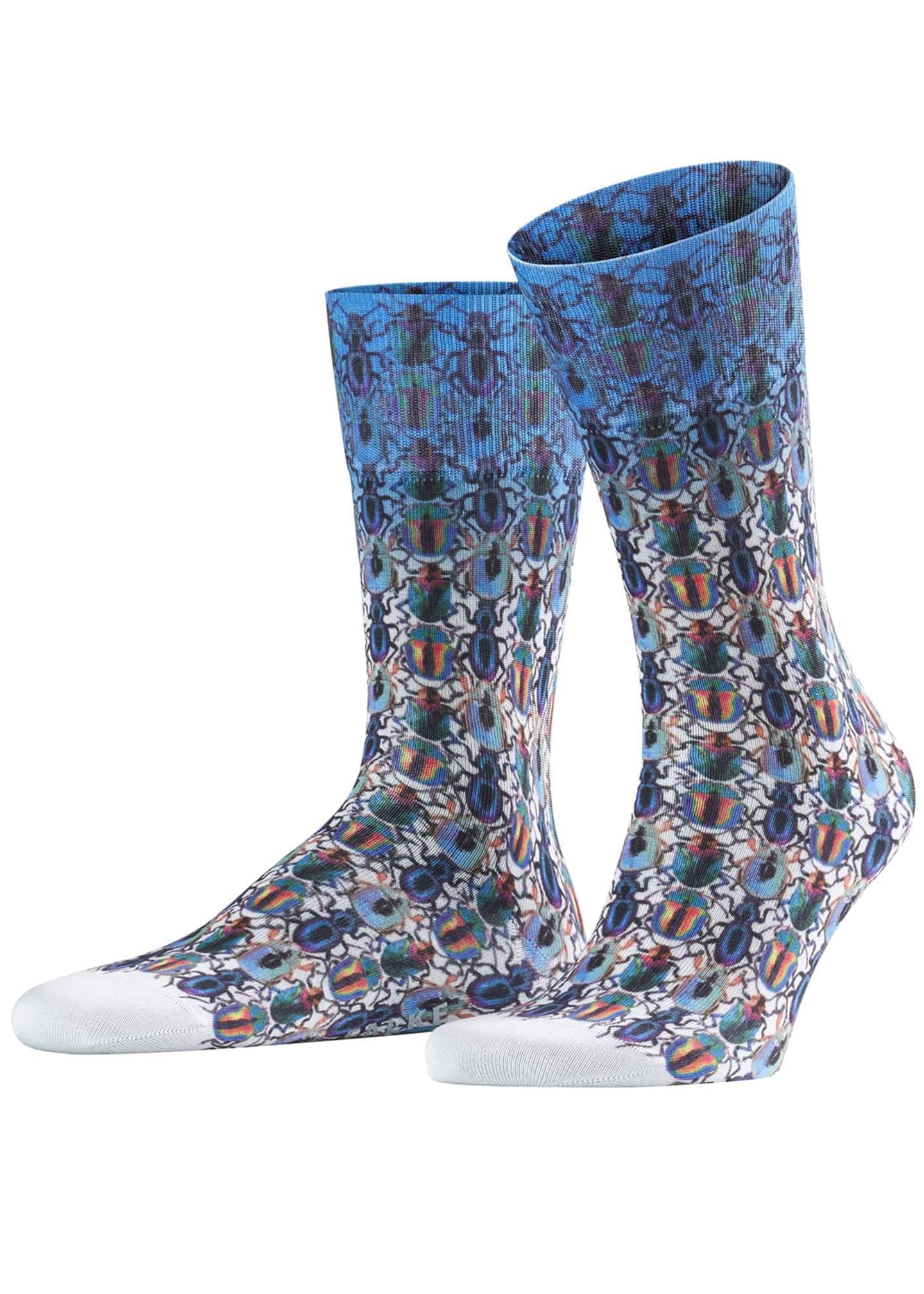Falke Men's Bug-Patterned Socks