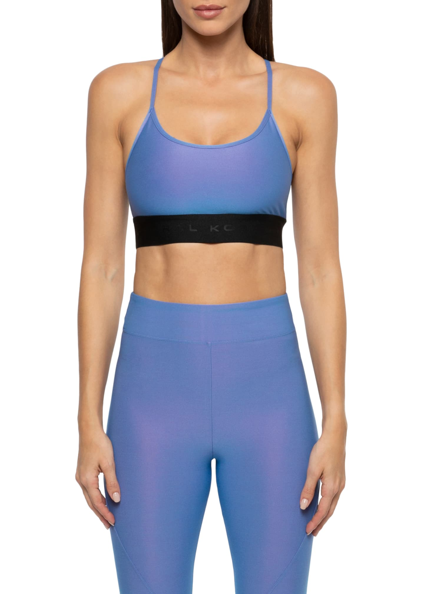 Koral Sweeper Iridescent Sports Bra