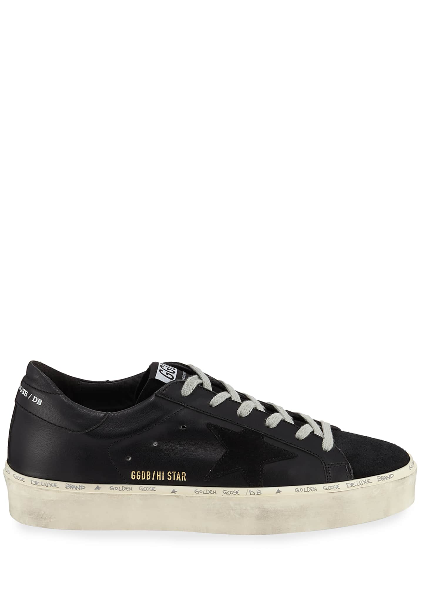 Image 2 of 3: Hi Star Tonal Lace-Up Sneakers