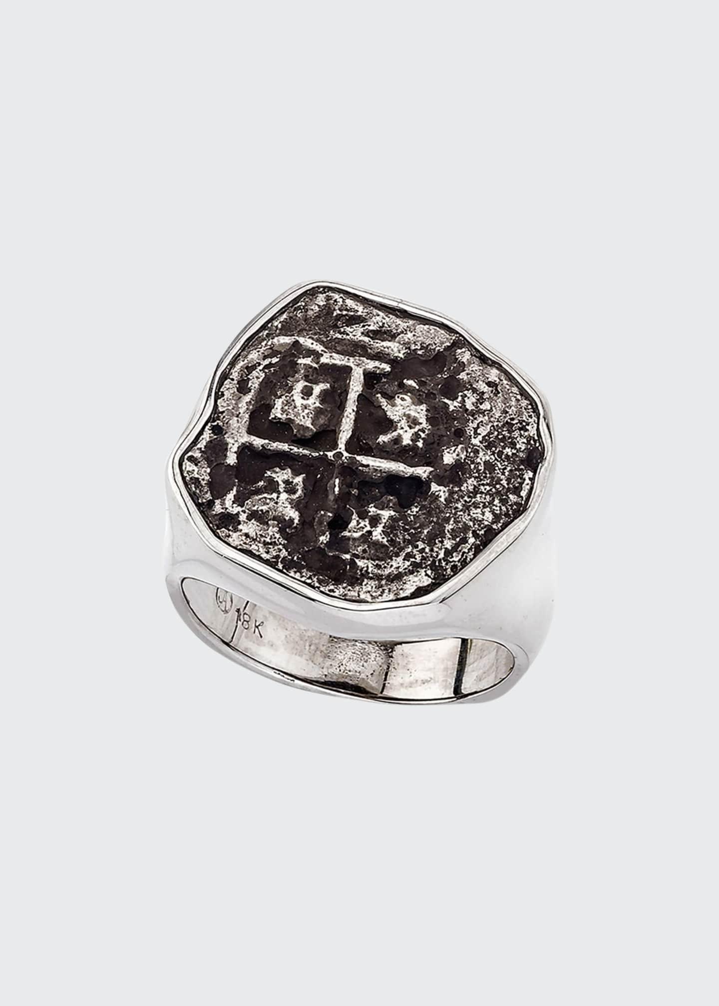 Jorge Adeler Men's Ancient Santa Rosa Coin Ring