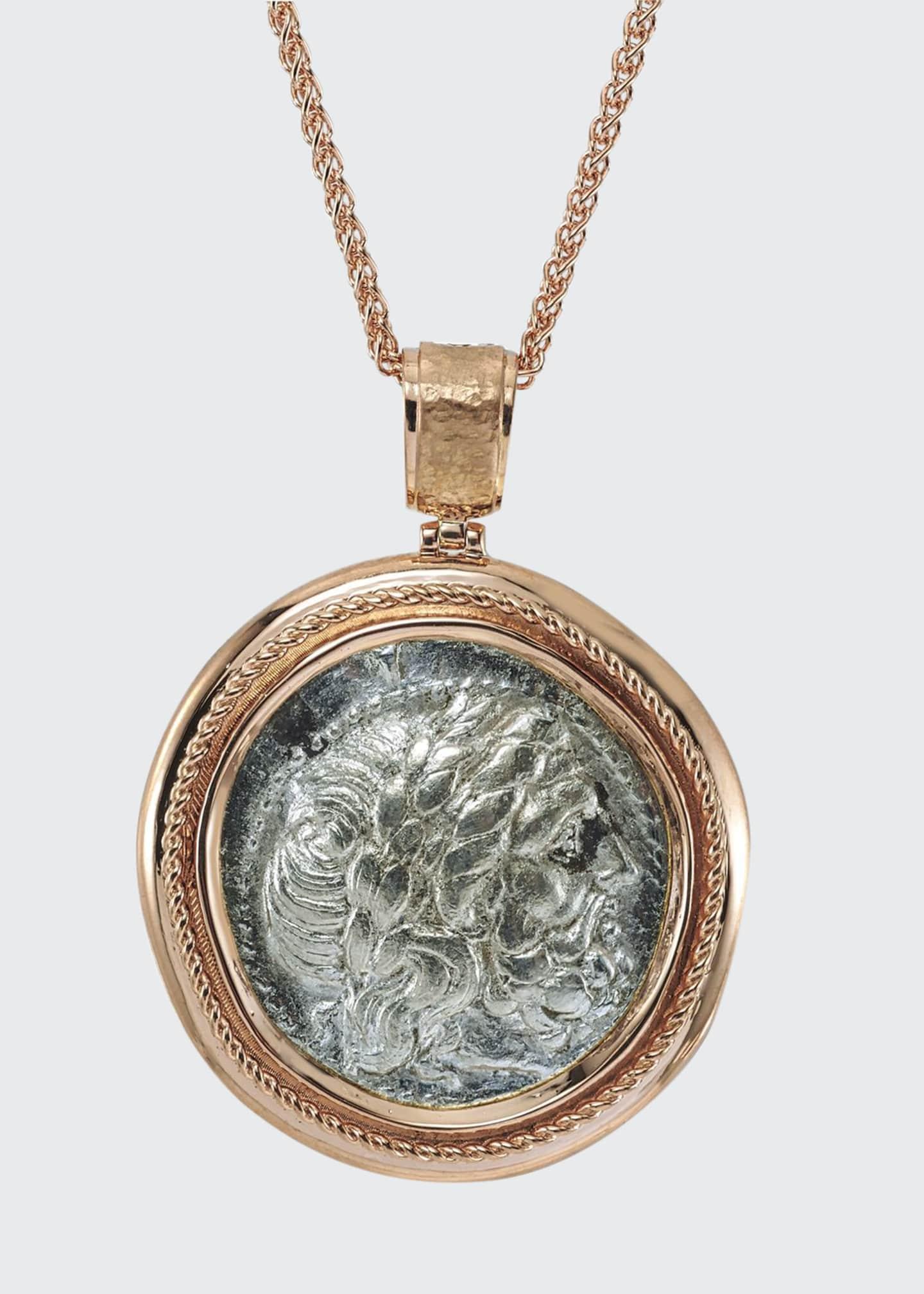 Jorge Adeler Authentic Philip II Coin Pendant in