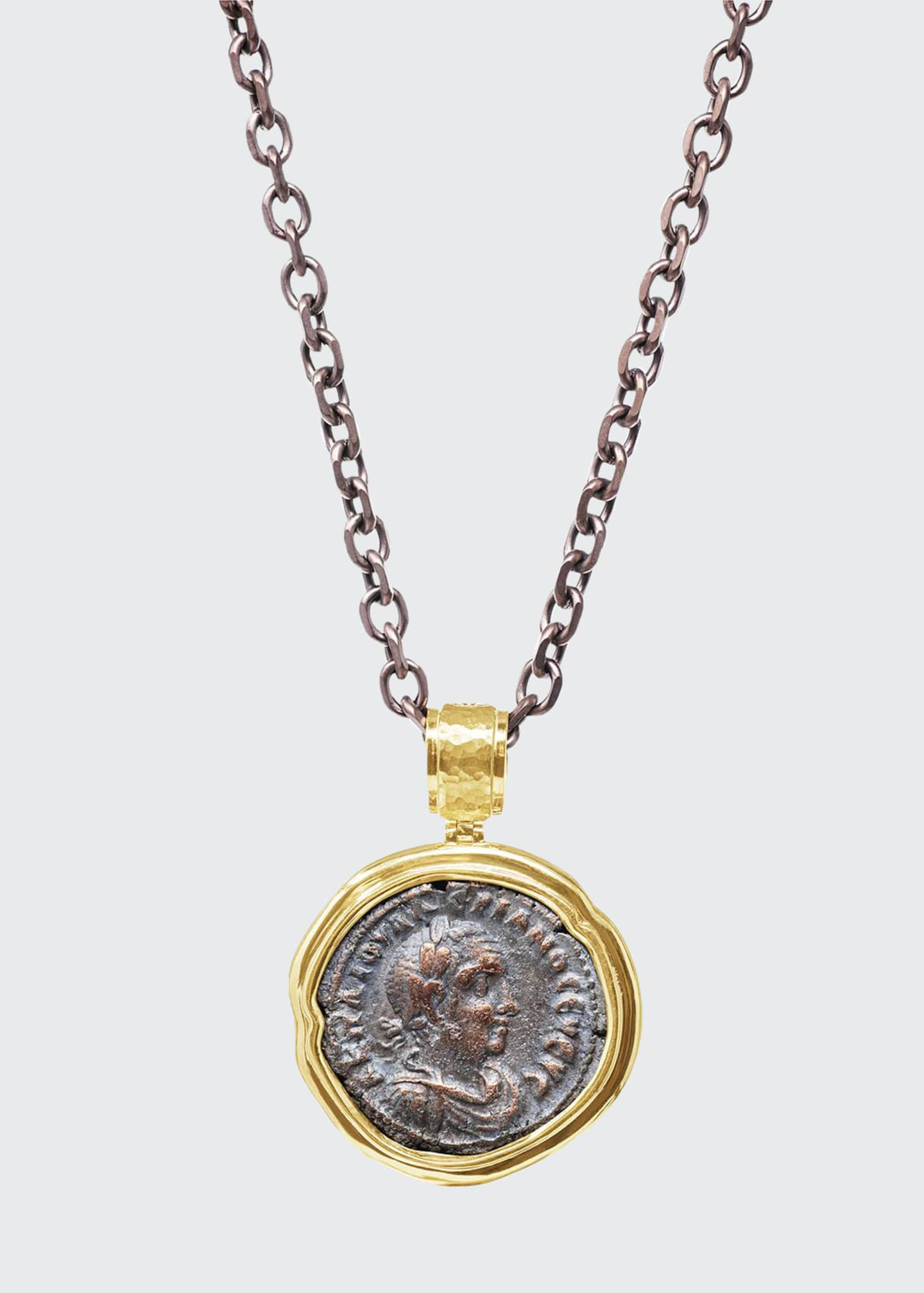 Authentic Emperor Valerian & Roman Eagle Reversible Coin