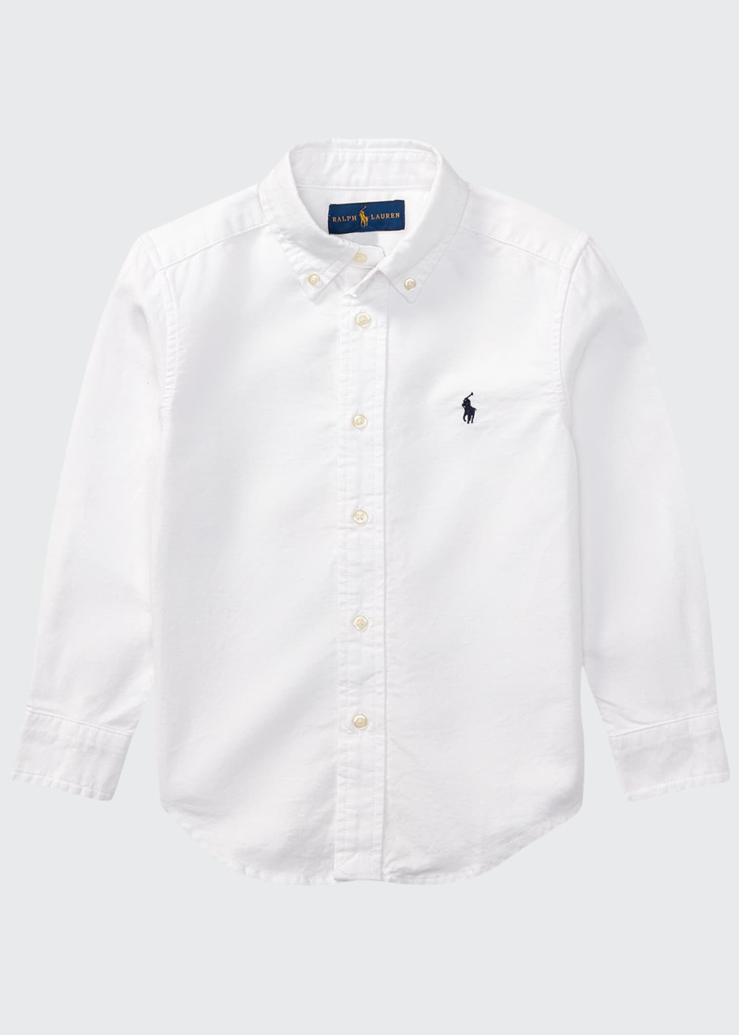 Image 1 of 2: Oxford Sport Shirt, Size 2-4