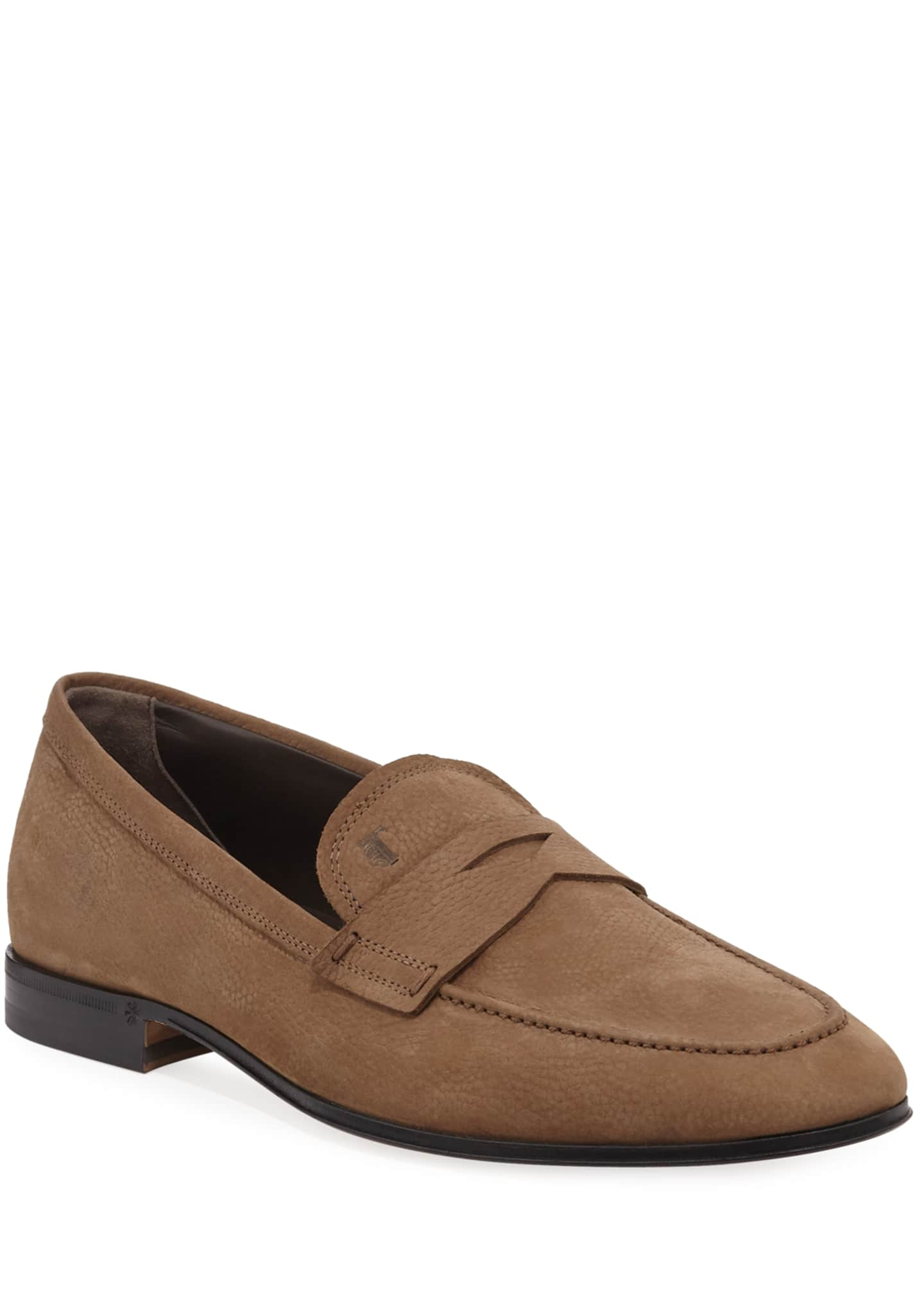 Tod's Men's Slim Mocassino Leather Loafers