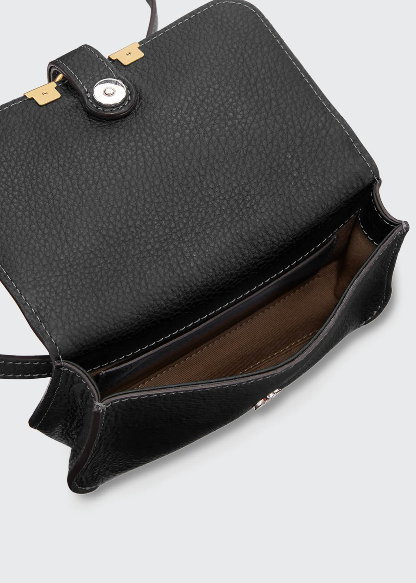 Image 3 of 3: Marcie Small Leather Belt Bag