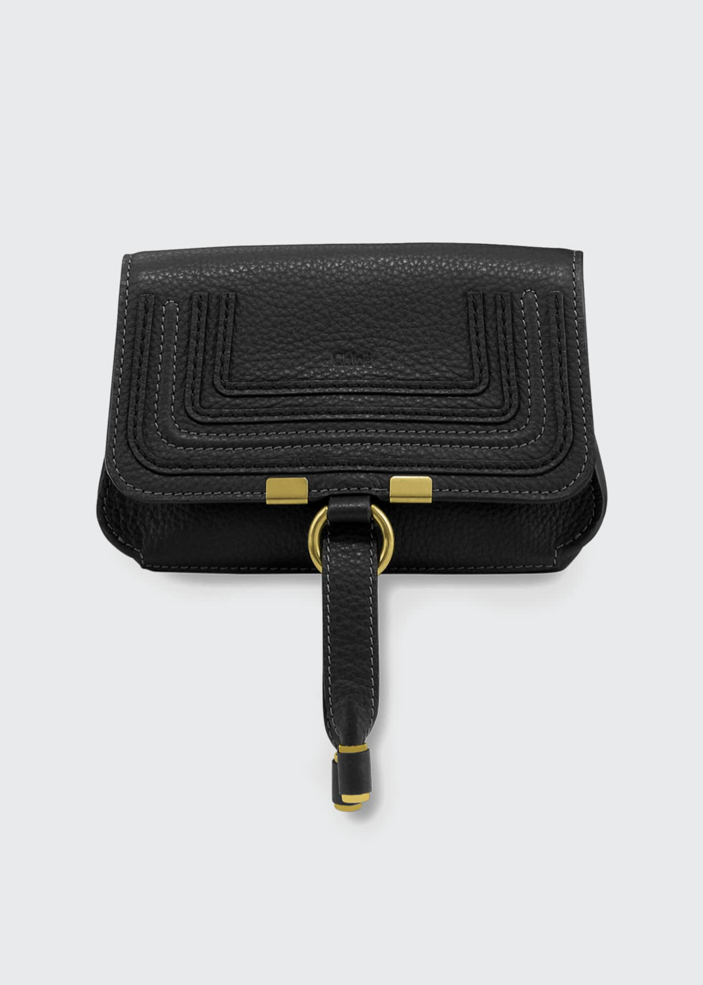 Image 1 of 3: Marcie Small Leather Belt Bag