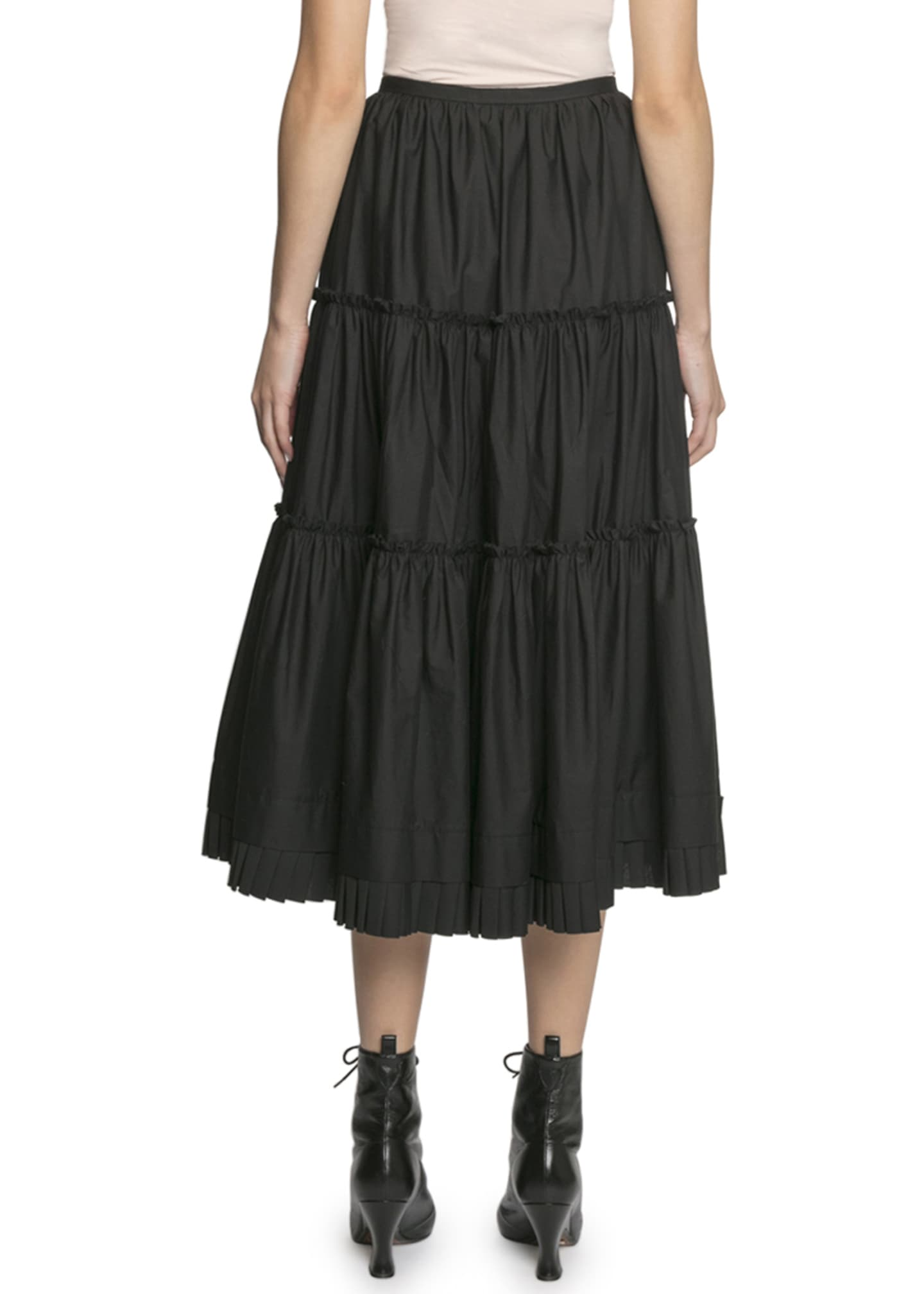 Image 2 of 2: The Prairie Tiered Ruffle Skirt