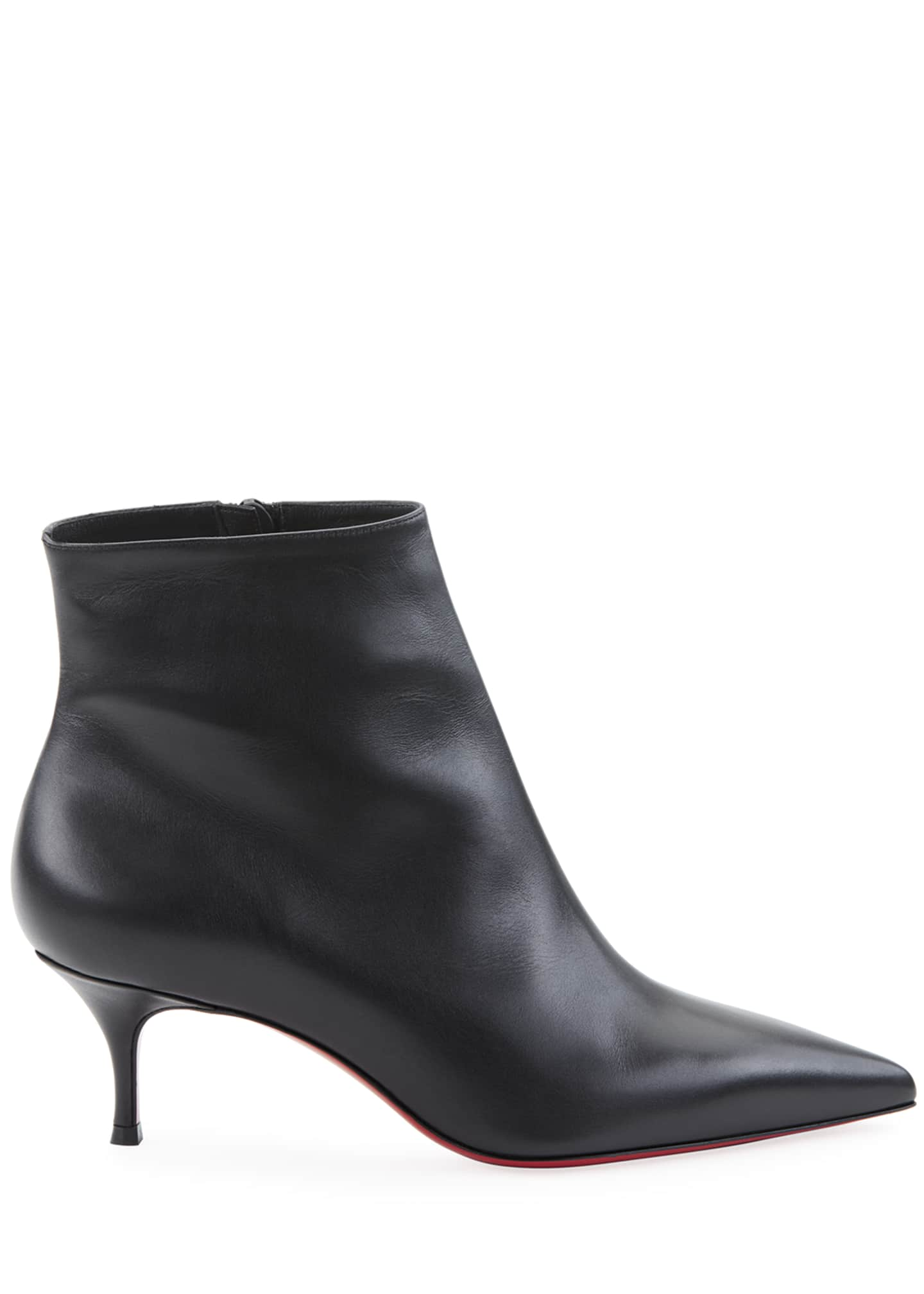 Image 2 of 2: So Kate Red Sole Booties