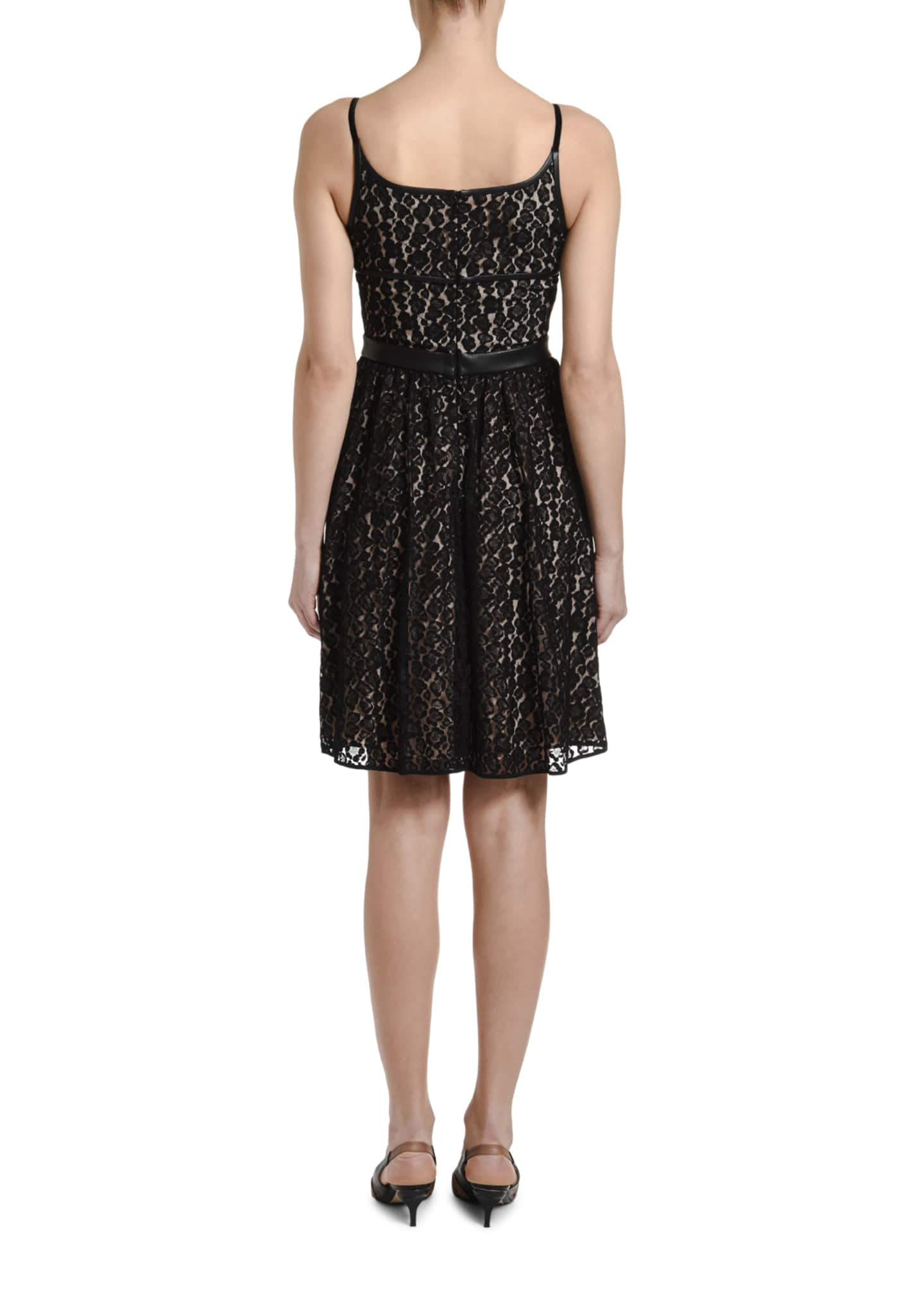 Image 2 of 3: Lace Mini Dress