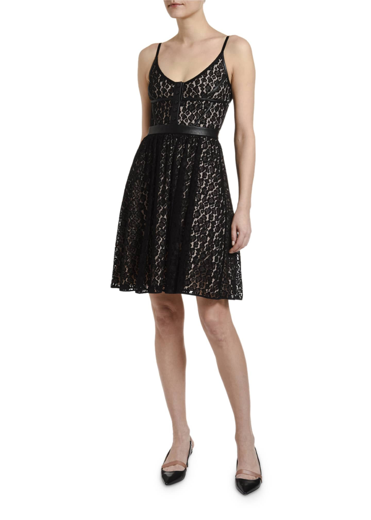 Image 3 of 3: Lace Mini Dress