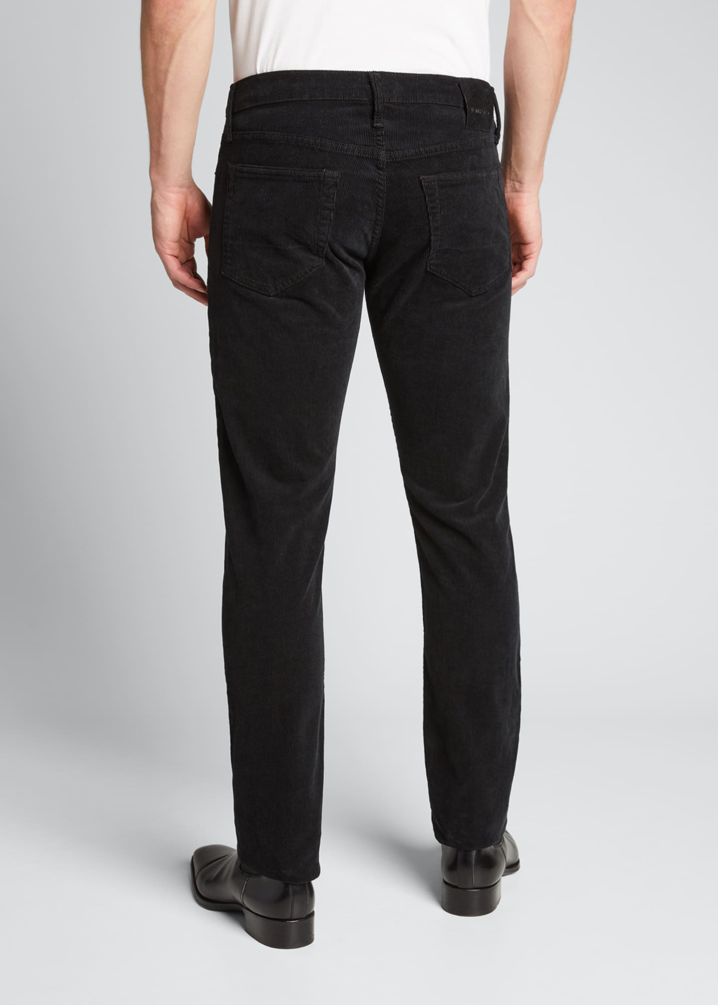 Image 2 of 4: Men's Straight-Leg Corduroy Stretch Pants