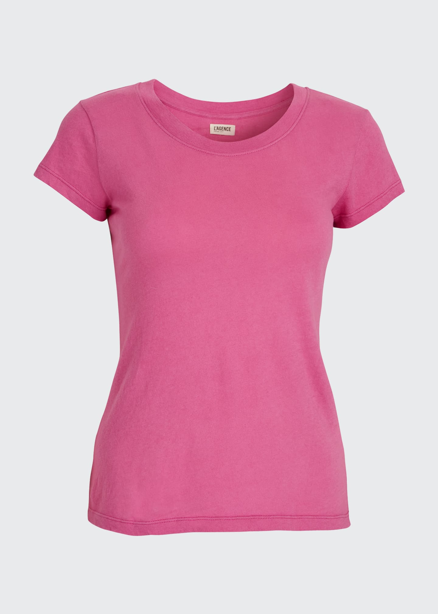 Image 5 of 5: Cory Scoop-Neck Tee