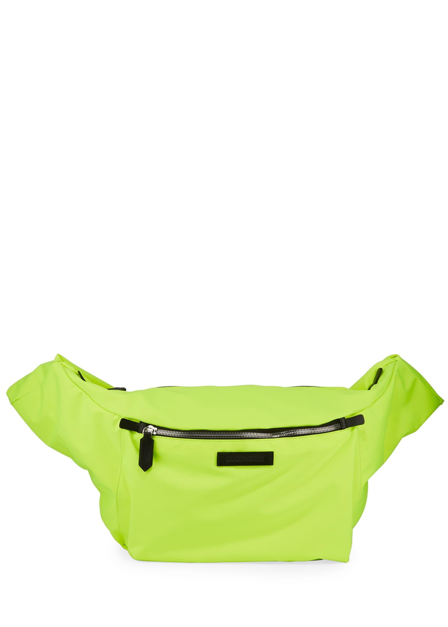 Dsquared2 Men's Nylon Belt Bag with Sleeve Straps