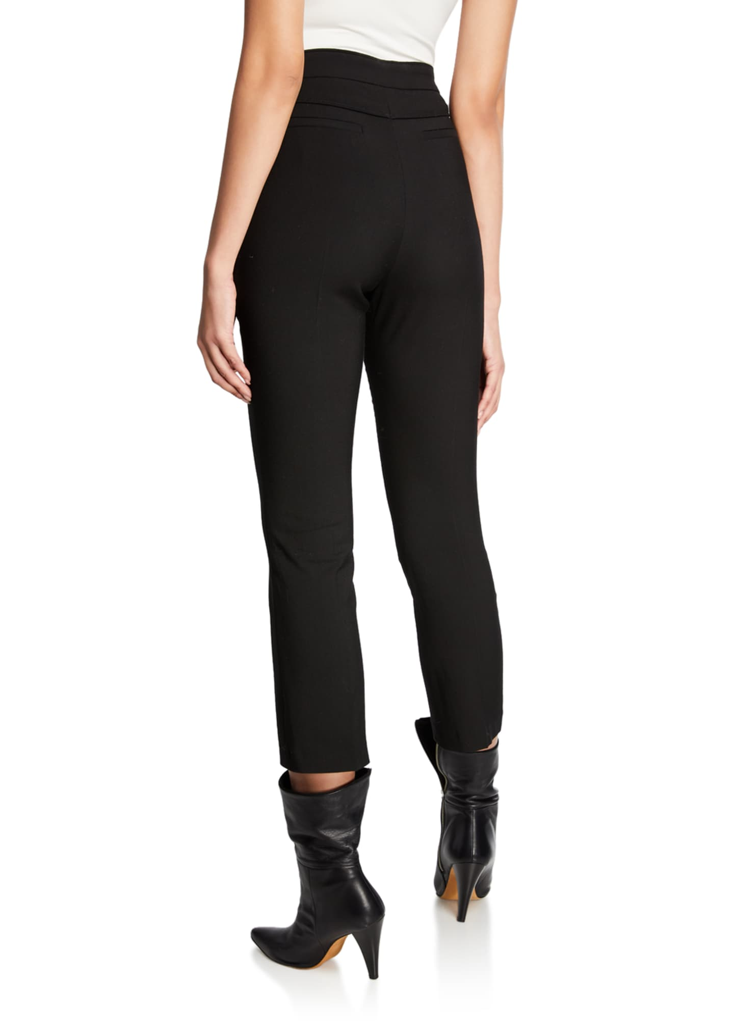 Image 2 of 3: Sauly High-Rise Skinny Pants