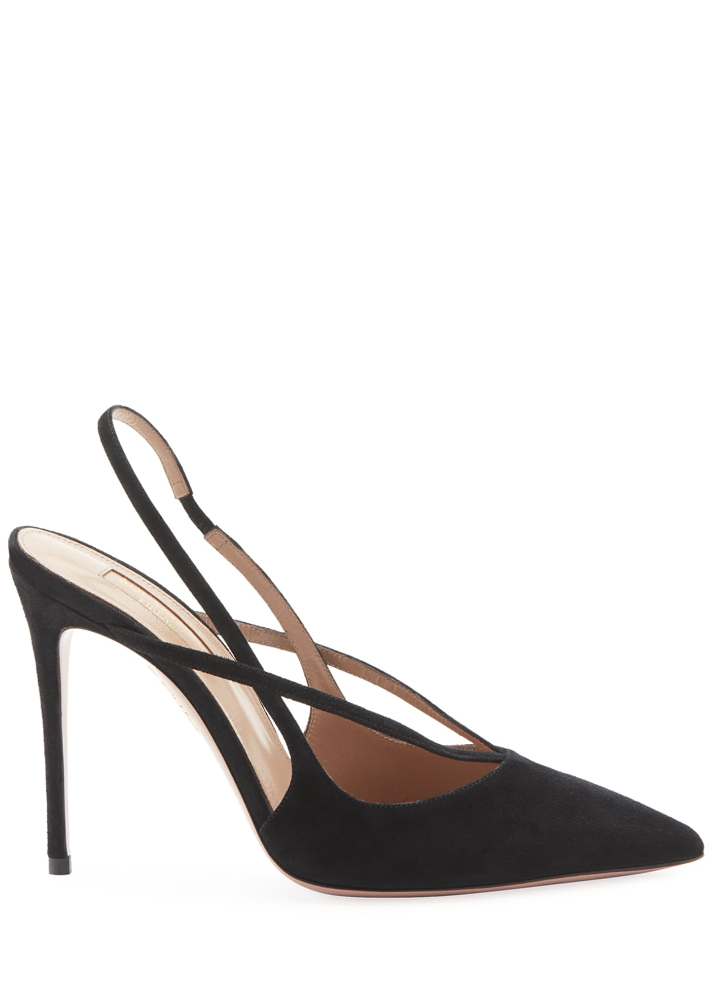 Image 2 of 2: Soul Suede Strappy Pumps