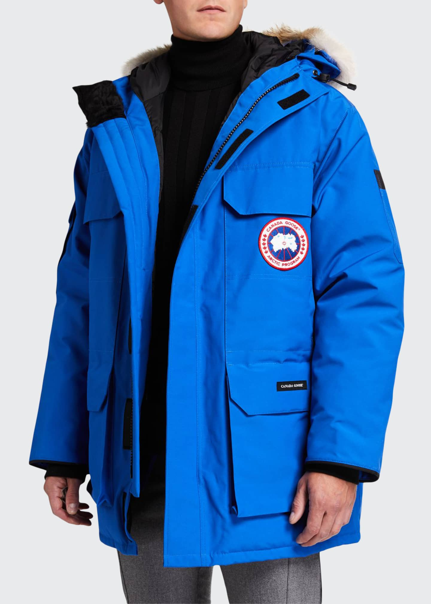 Canada Goose Men's Expedition Hooded Parka Coat w/