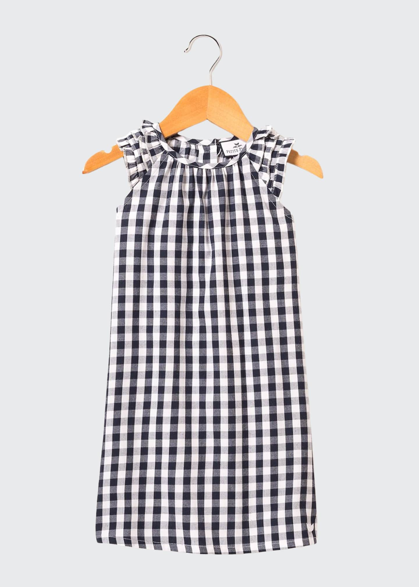 Image 1 of 1: Amelie Gingham Nightgown, Size 6M-14