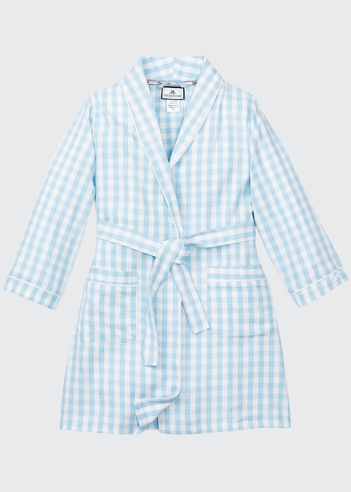 Image 1 of 1: Gingham Robe, Size 2-14