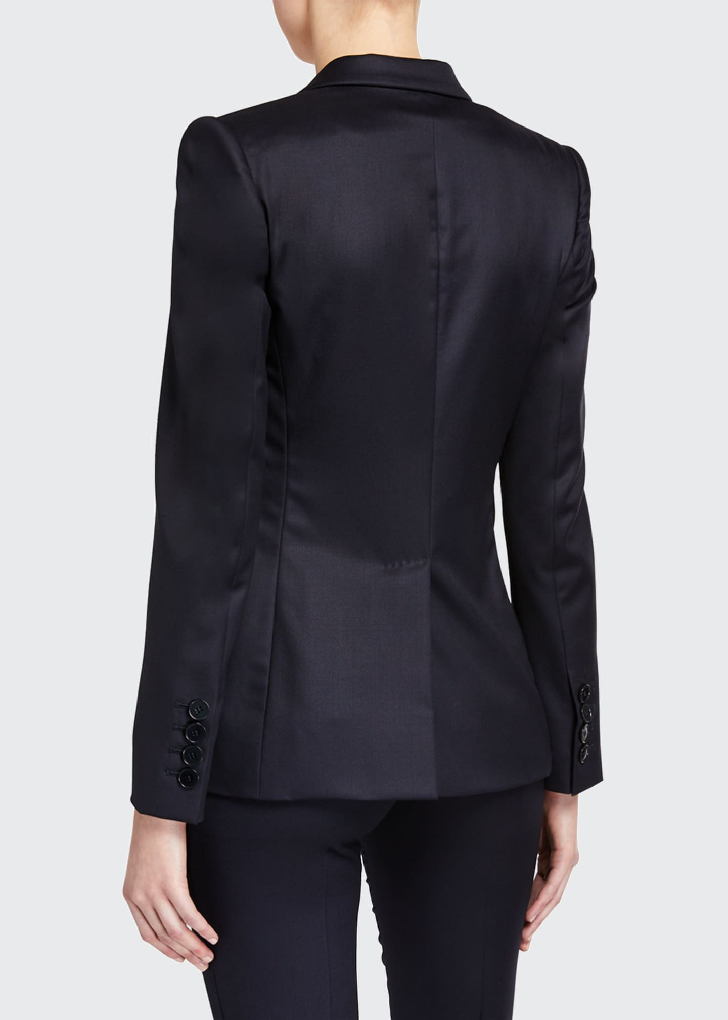 Image 2 of 3: Ingrid Classic Wool Tailoring Jacket