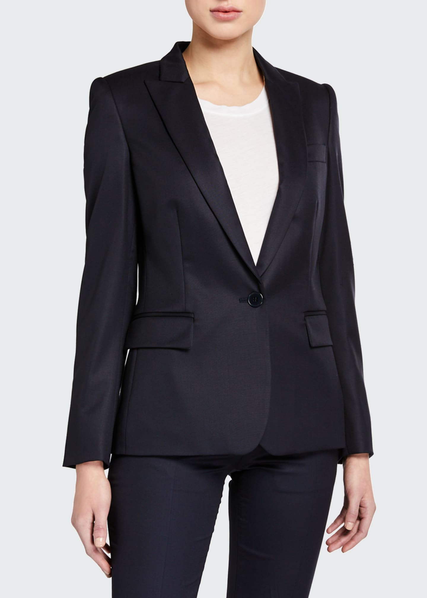 Image 1 of 3: Ingrid Classic Wool Tailoring Jacket