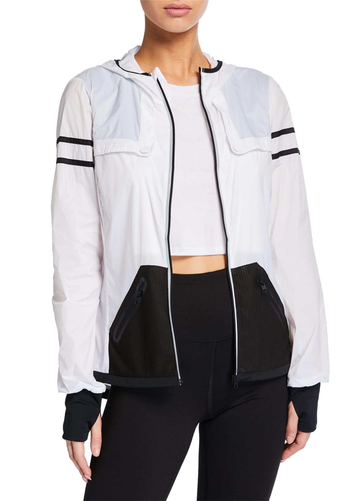 Blanc Noir Moonlight Zip-Front Active Jacket