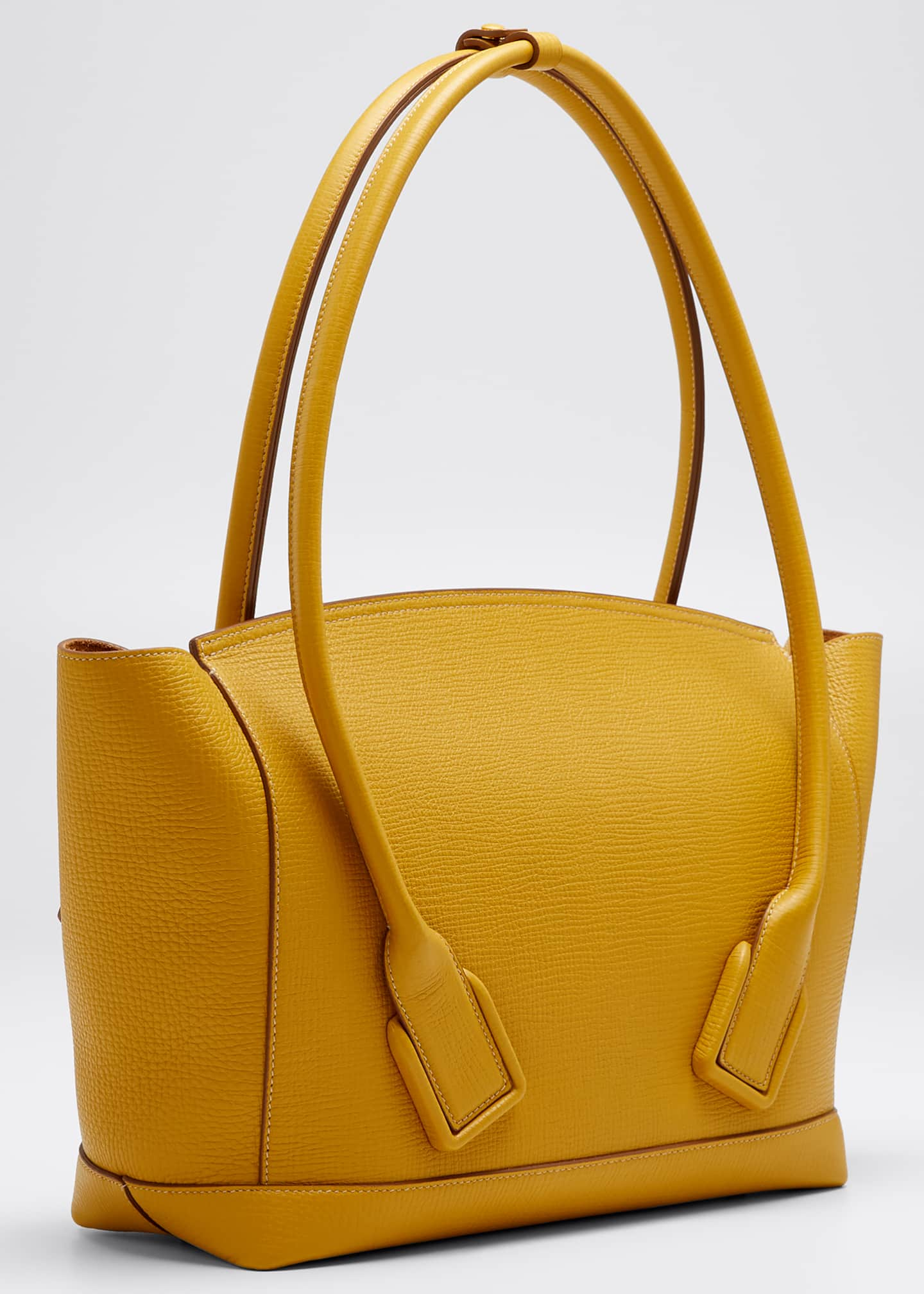 Image 3 of 5: Medium Palmellato Leather Top-Handle Bag