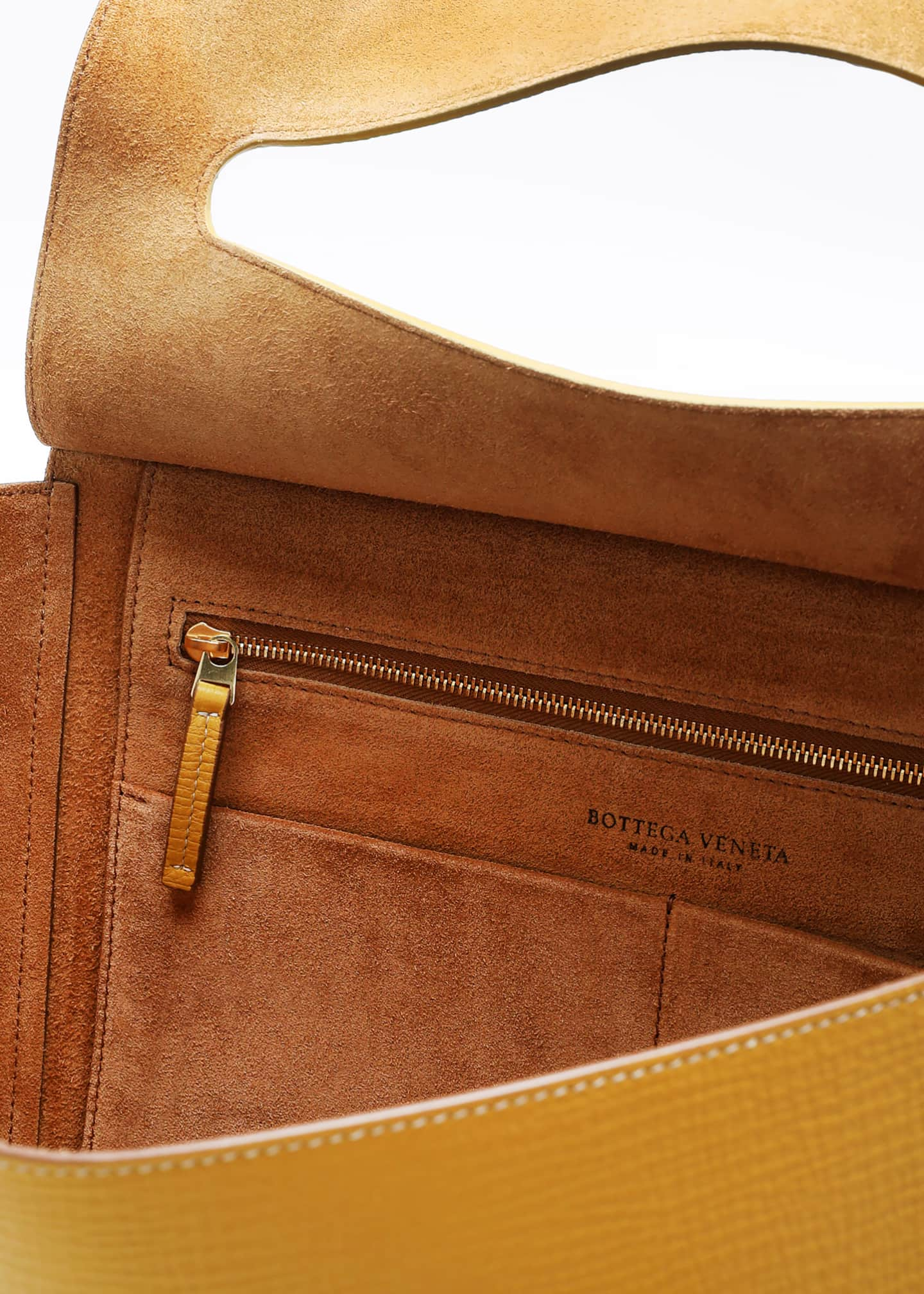 Image 4 of 5: Medium Palmellato Leather Top-Handle Bag