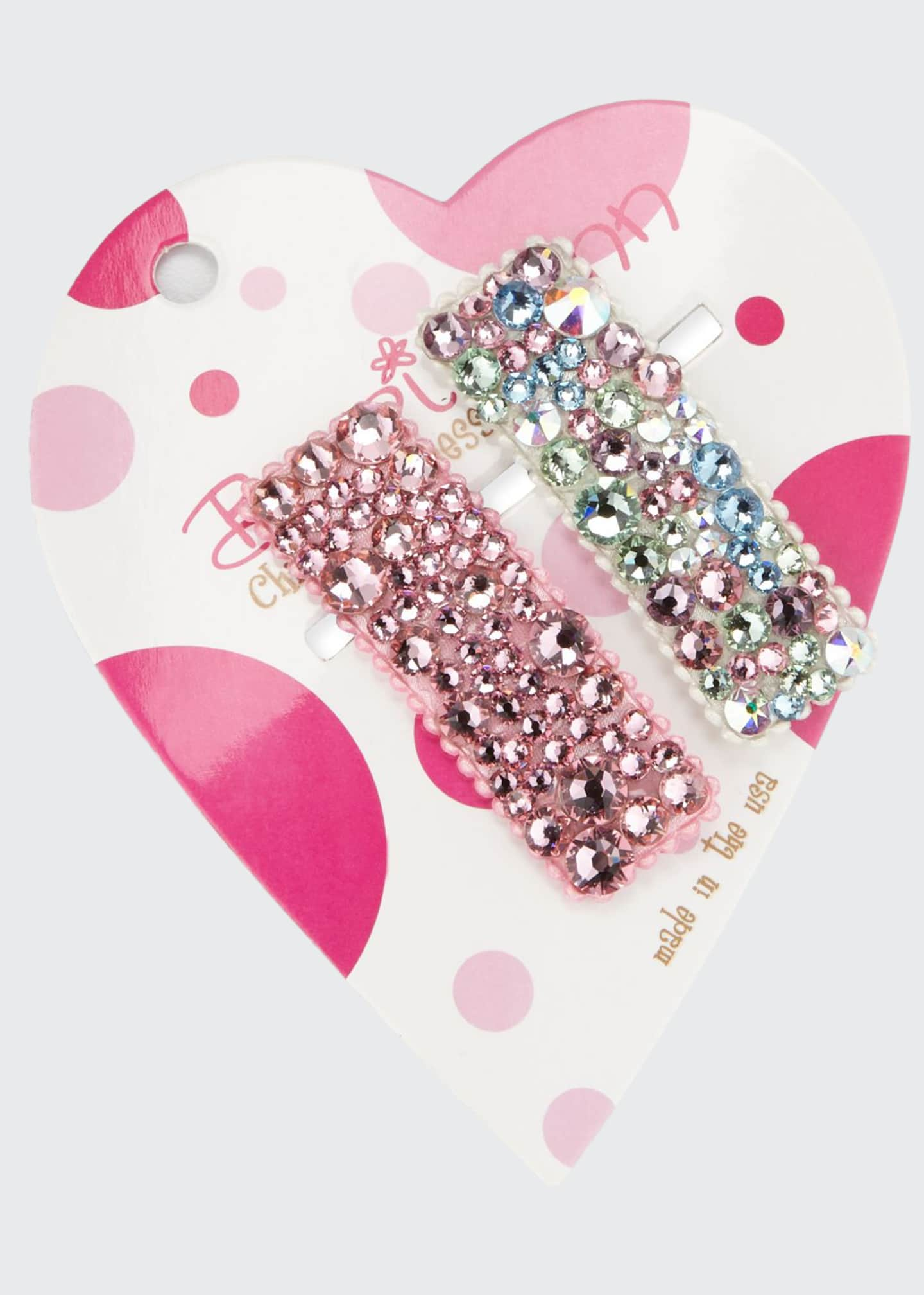 Bari Lynn Multicolored Pastel & Tonal Swarovski Crystal