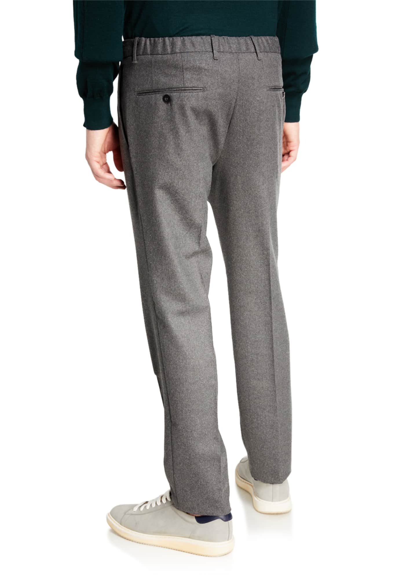 Image 2 of 3: Men's Techno-Flannel Travel Jogger Pants