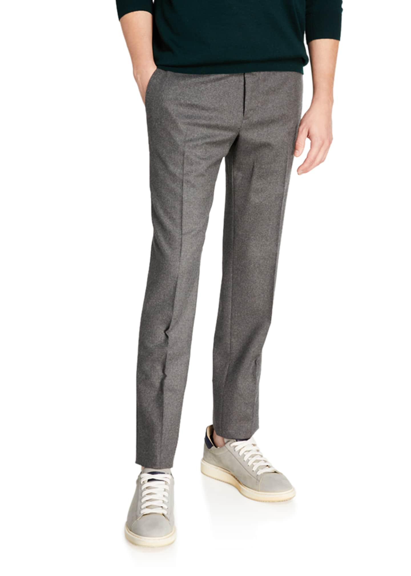 Image 3 of 3: Men's Techno-Flannel Travel Jogger Pants