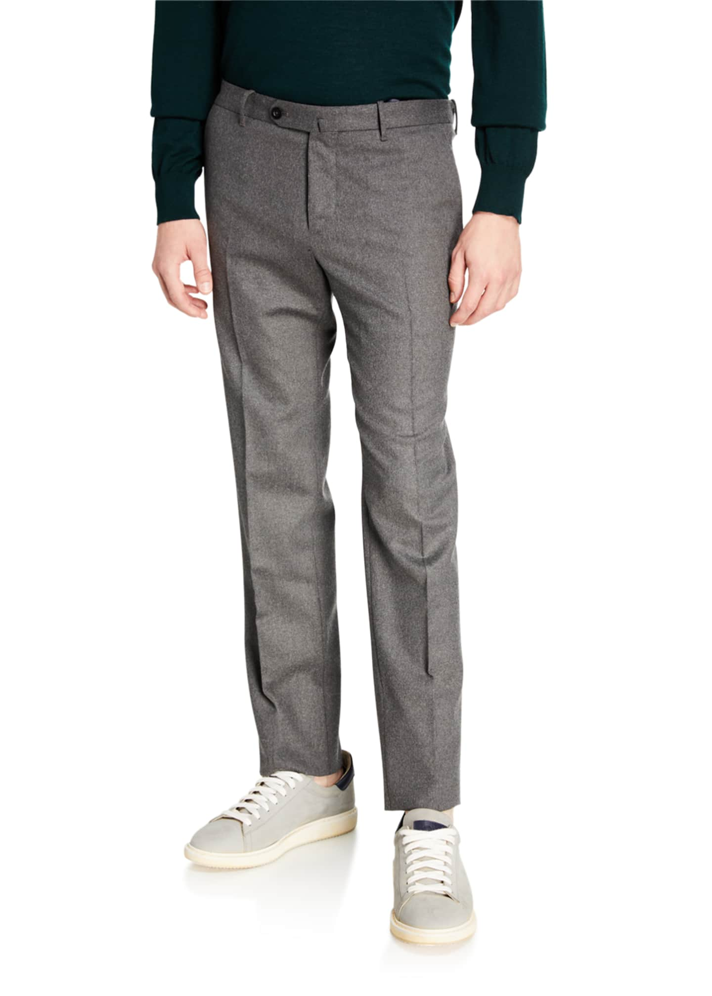 Image 1 of 3: Men's Techno-Flannel Travel Jogger Pants