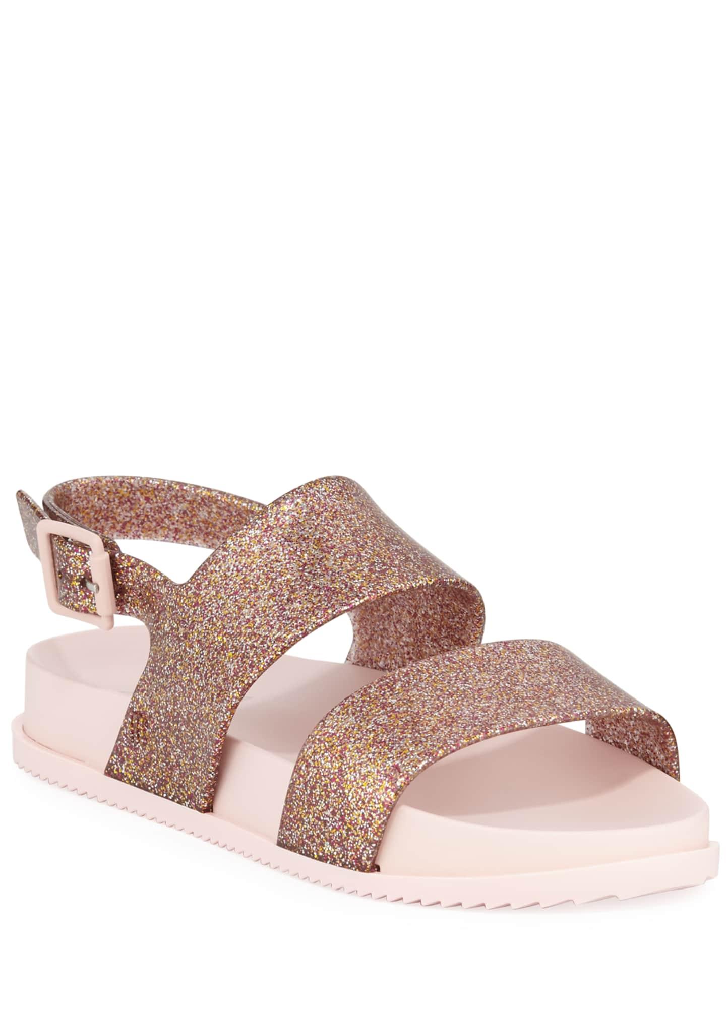 Mini Melissa Cosmic Glittered Sandal, Toddler/Kids