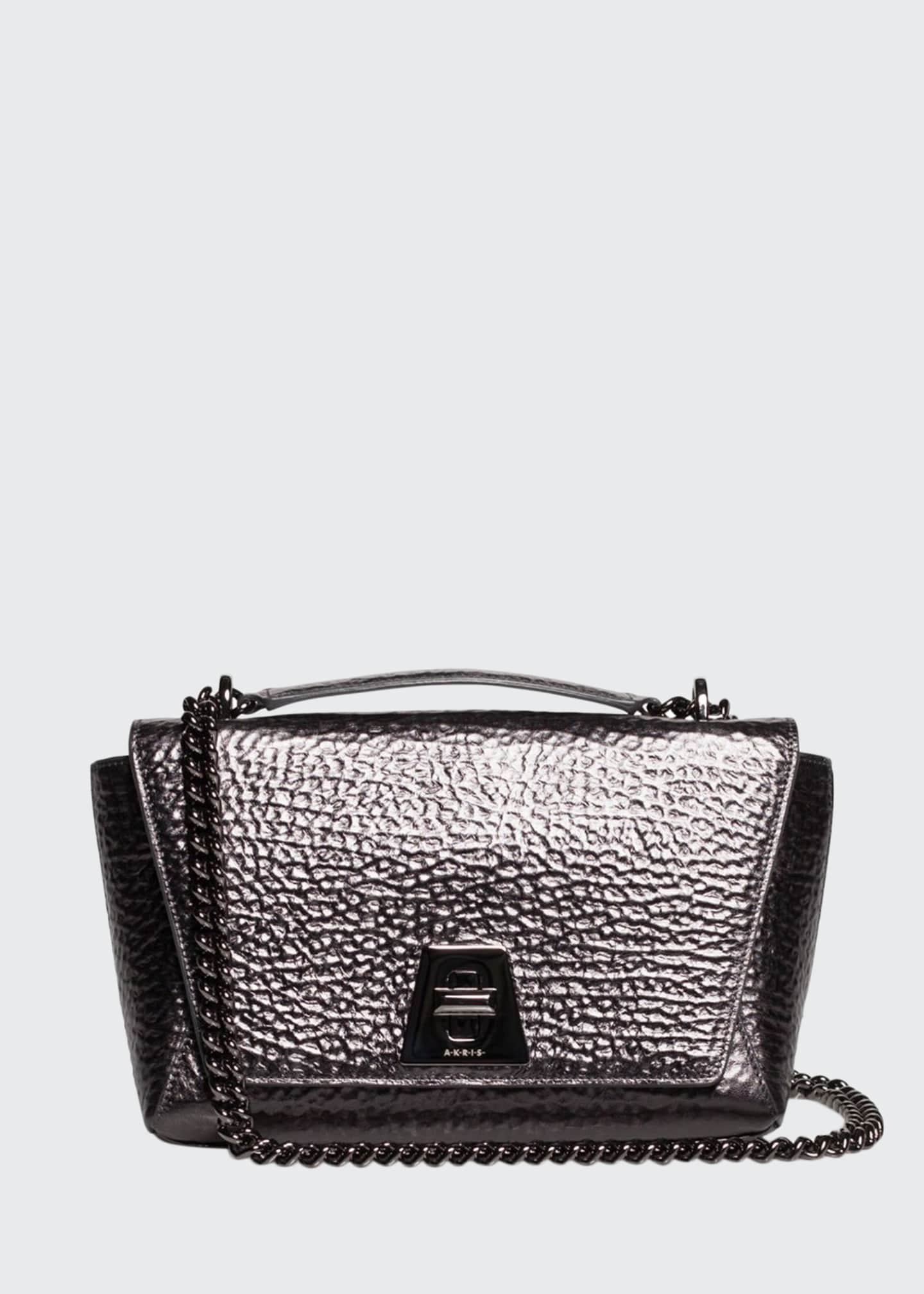 Akris Anouk Small Day Leather Crossbody Bag