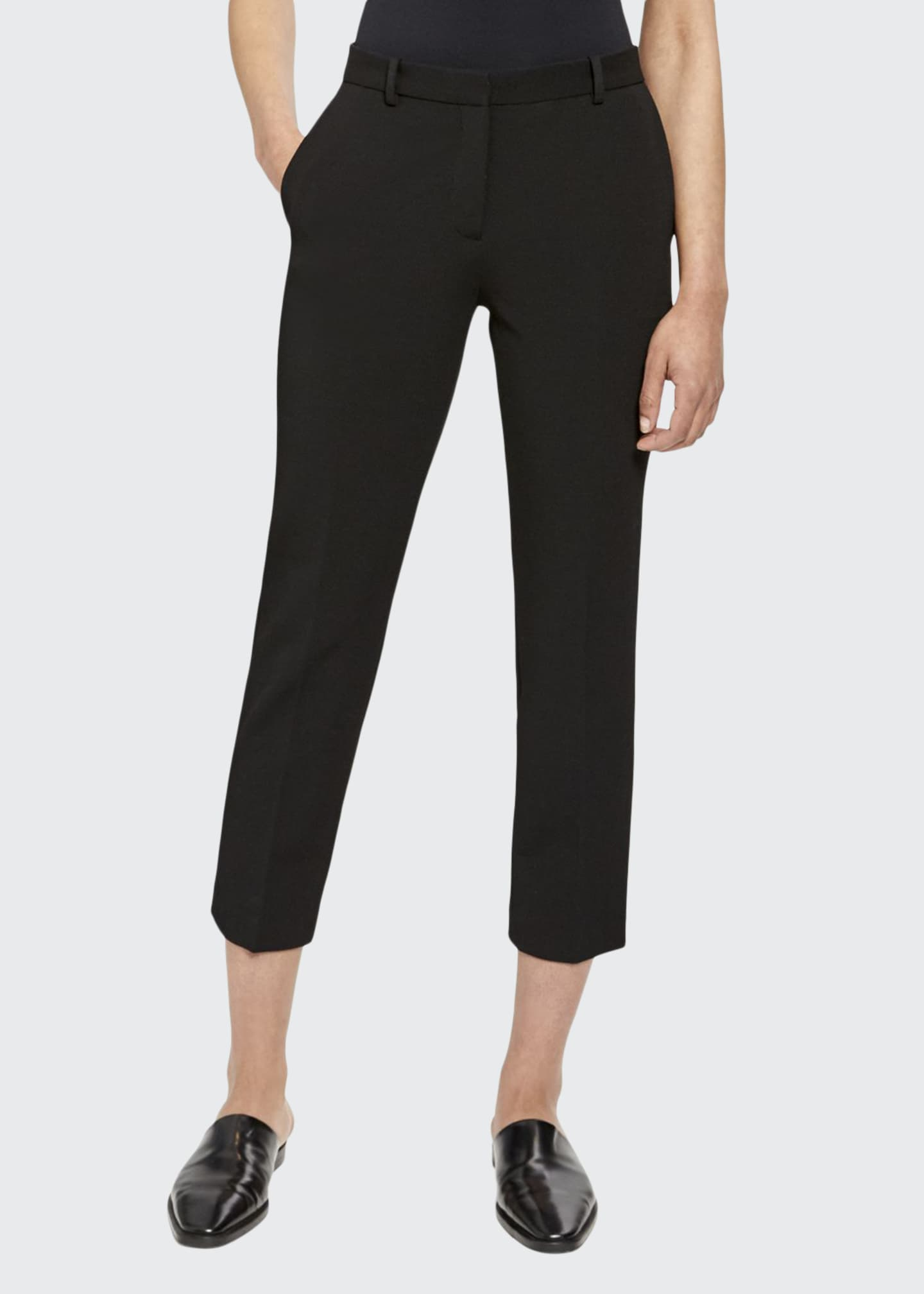 Theory Tailored Skinny Trousers