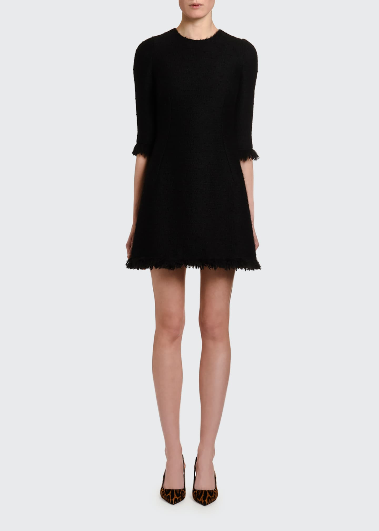 Image 1 of 3: Lightweight Crepe Dress