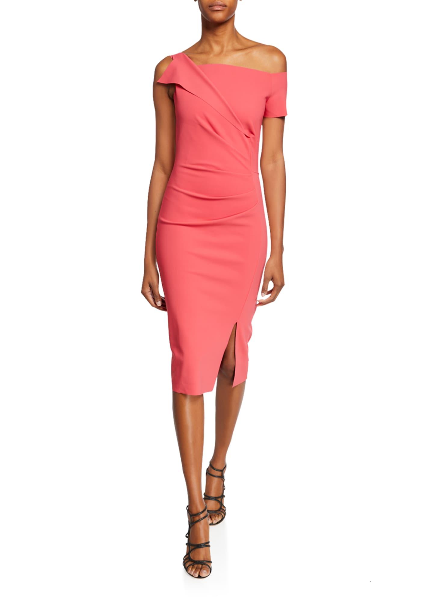 Chiara Boni La Petite Robe Affie One-Shoulder Asymmetric