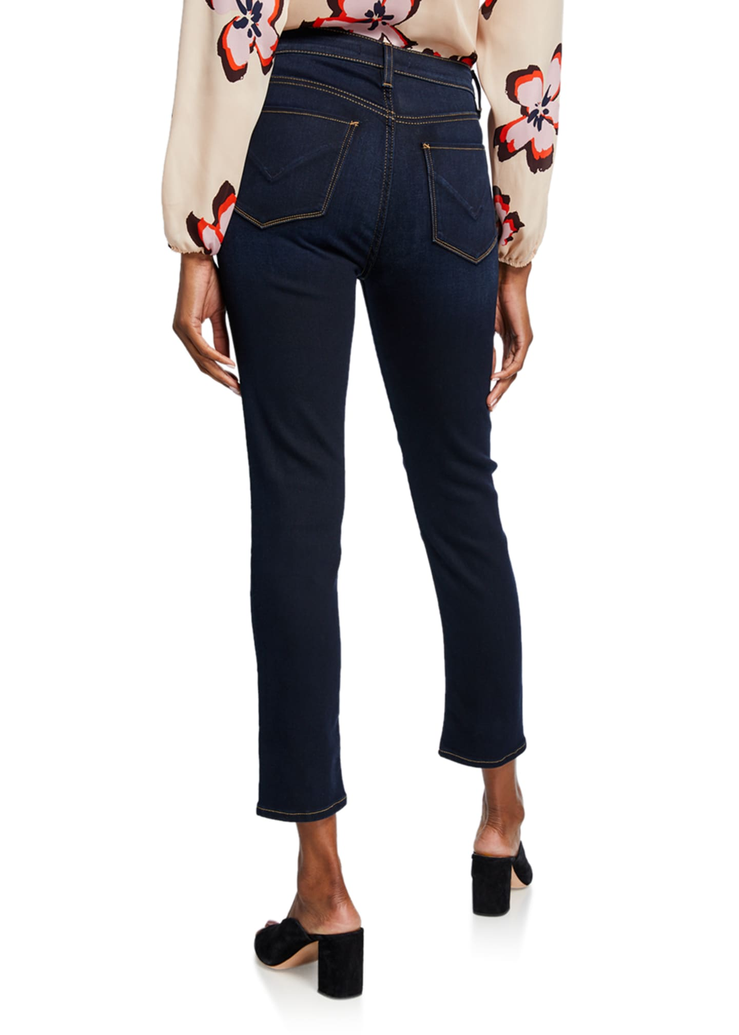 Image 2 of 3: Holly High-Rise Crop Skinny Jeans