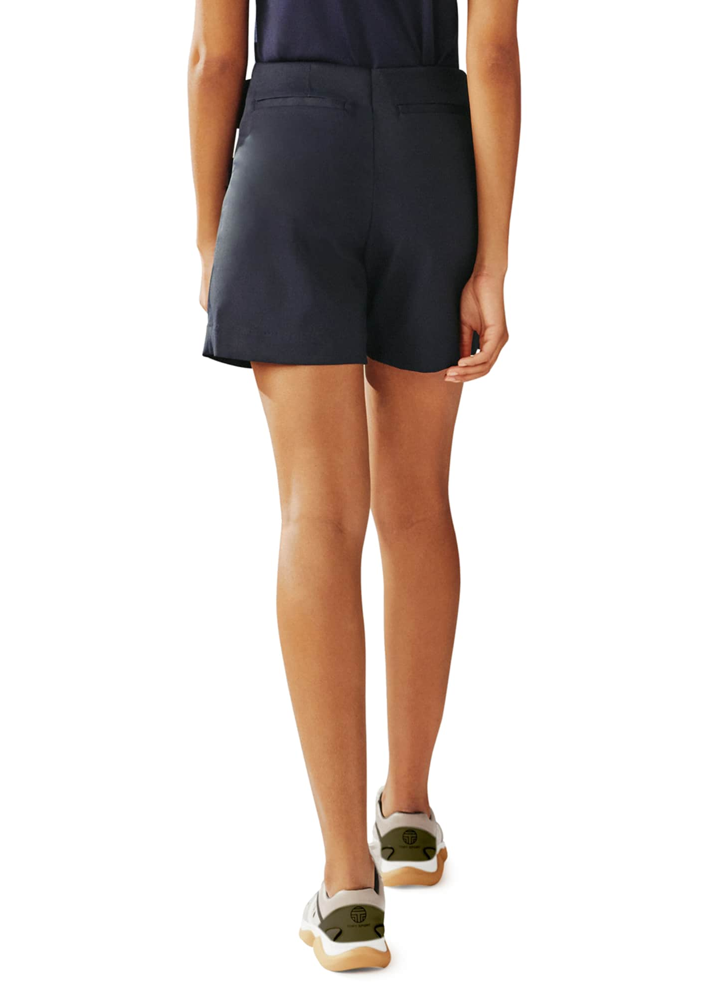 Image 2 of 3: Tech Twill Snap Golf Skort