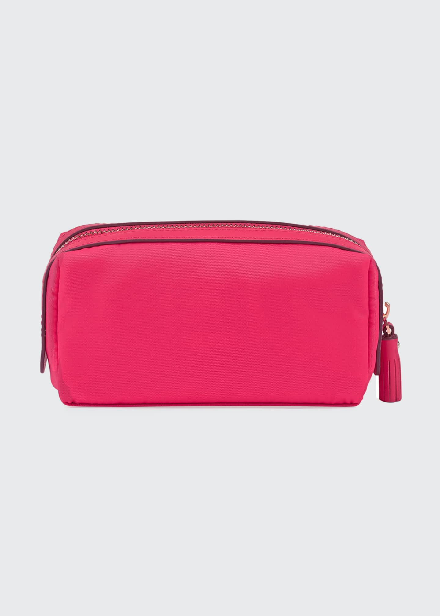 Anya Hindmarch Girlie Stuff Nylon Cosmetics Bag, Hot Pink - Bergdorf Goodman