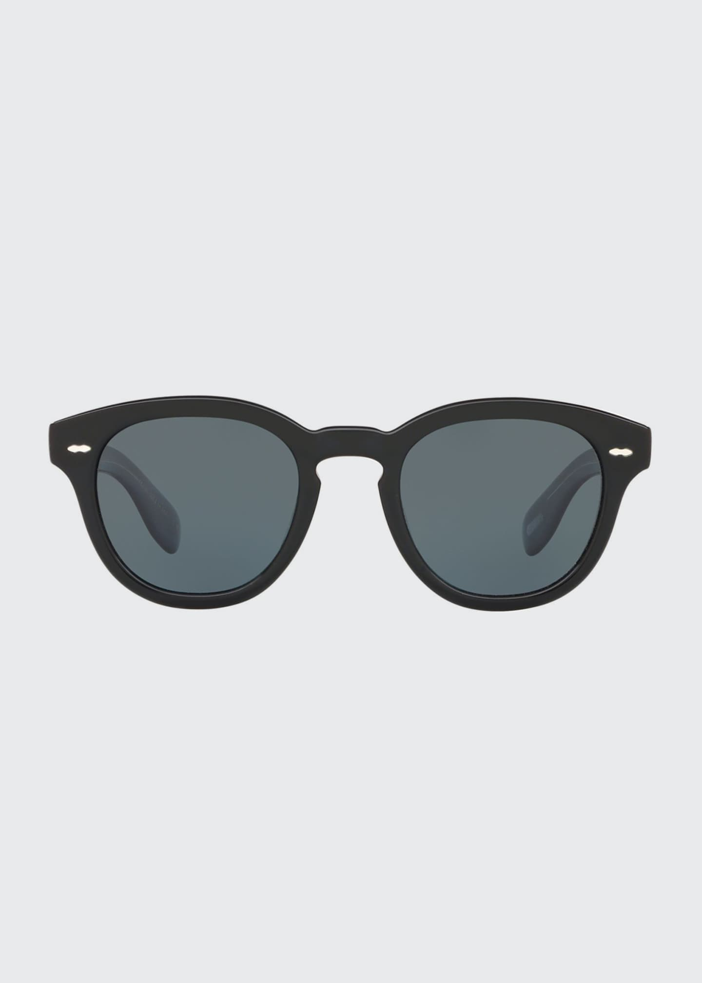 Image 2 of 2: Cary Grant Oval Acetate Sunglasses