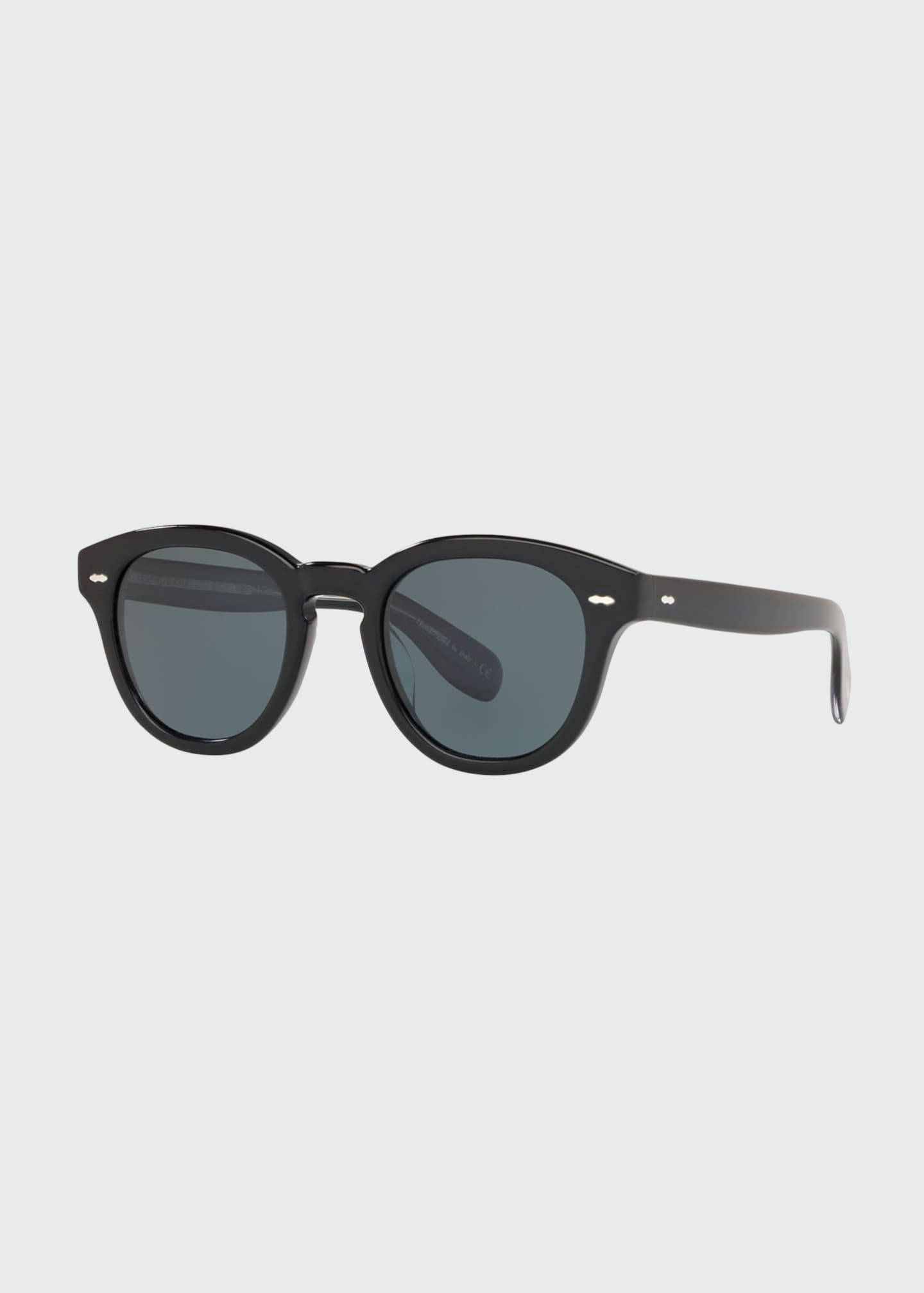 Image 1 of 2: Cary Grant Oval Acetate Sunglasses