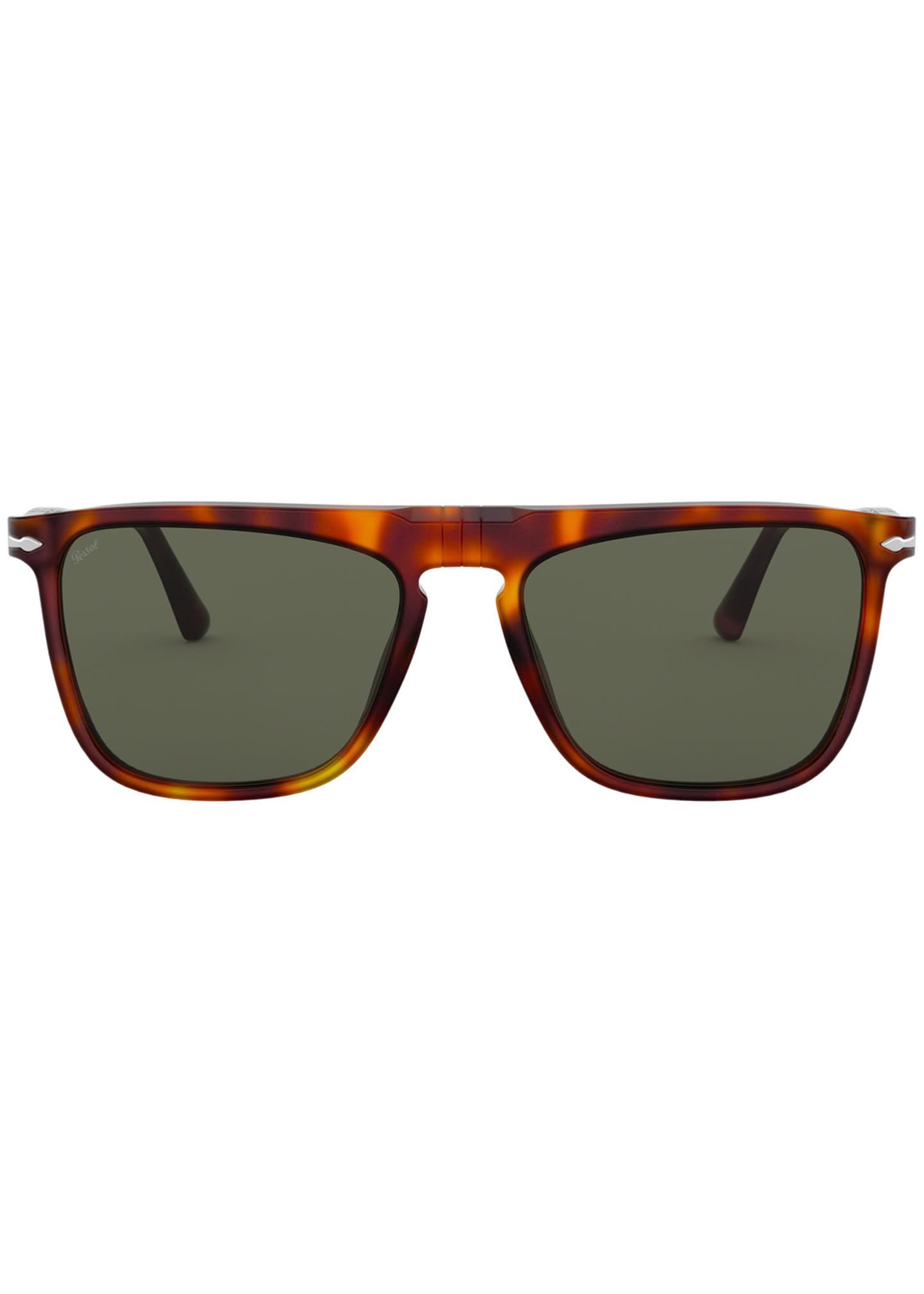 Image 2 of 4: Men's Patterned Rectangle Sunglasses