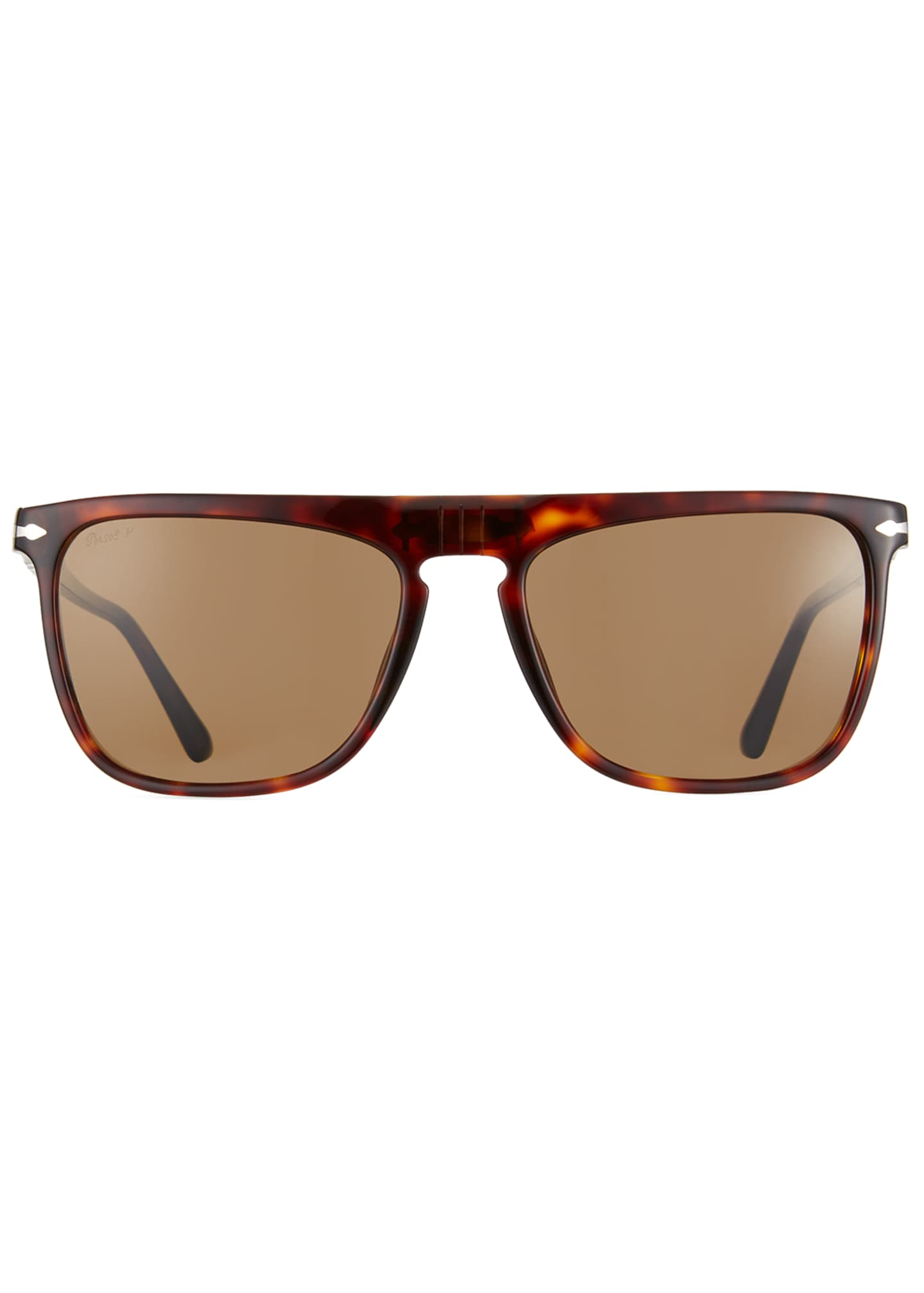 Image 3 of 4: Men's Patterned Rectangle Sunglasses